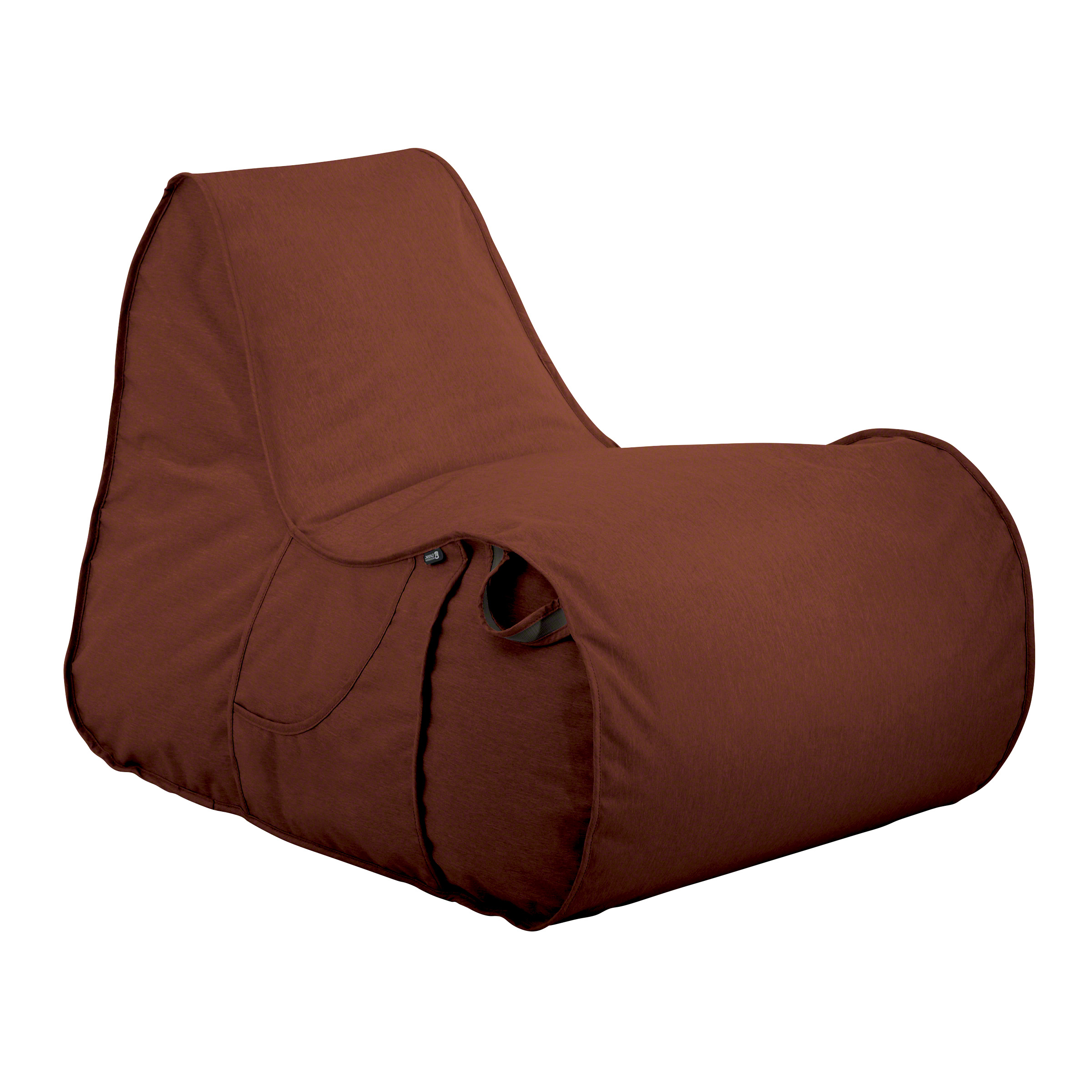 Indoor/outdoor Patio Bean Bag Chairs Pertaining To Newest Classic Accessories Montlake Fadesafe Frameless Furniture – Indoor/outdoor Bean Bag Patio Chair, Multiple Colors (View 11 of 25)