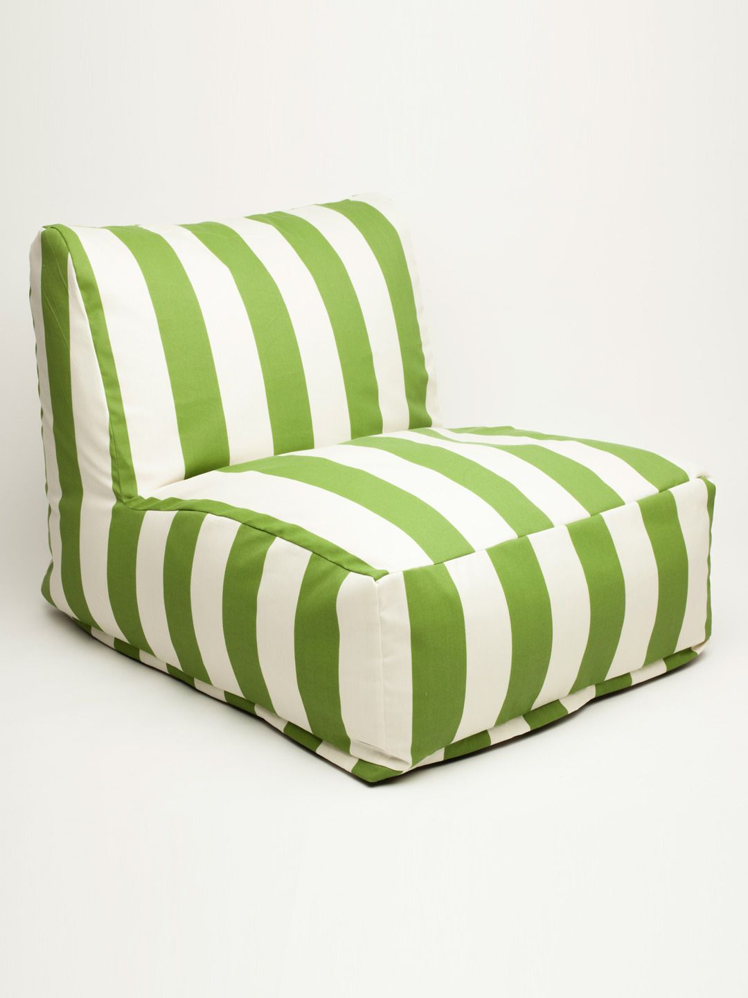 Indoor/outdoor Vertical Stripe Bean Bag Chair Loungers With Well Known Love These Cabana Striped Bean Bag Chairs For The Playroom (Gallery 17 of 25)