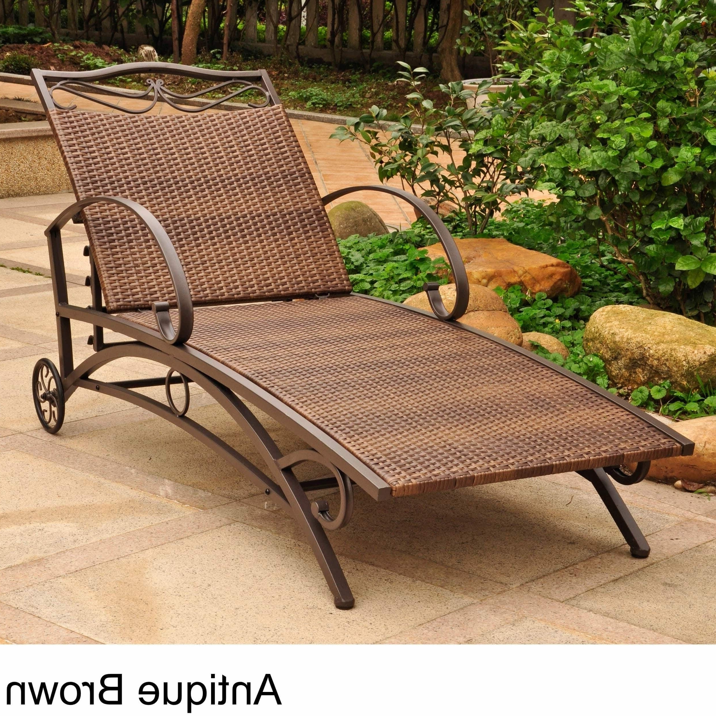 Featured Photo of Resin Wicker Multi Position Chaises