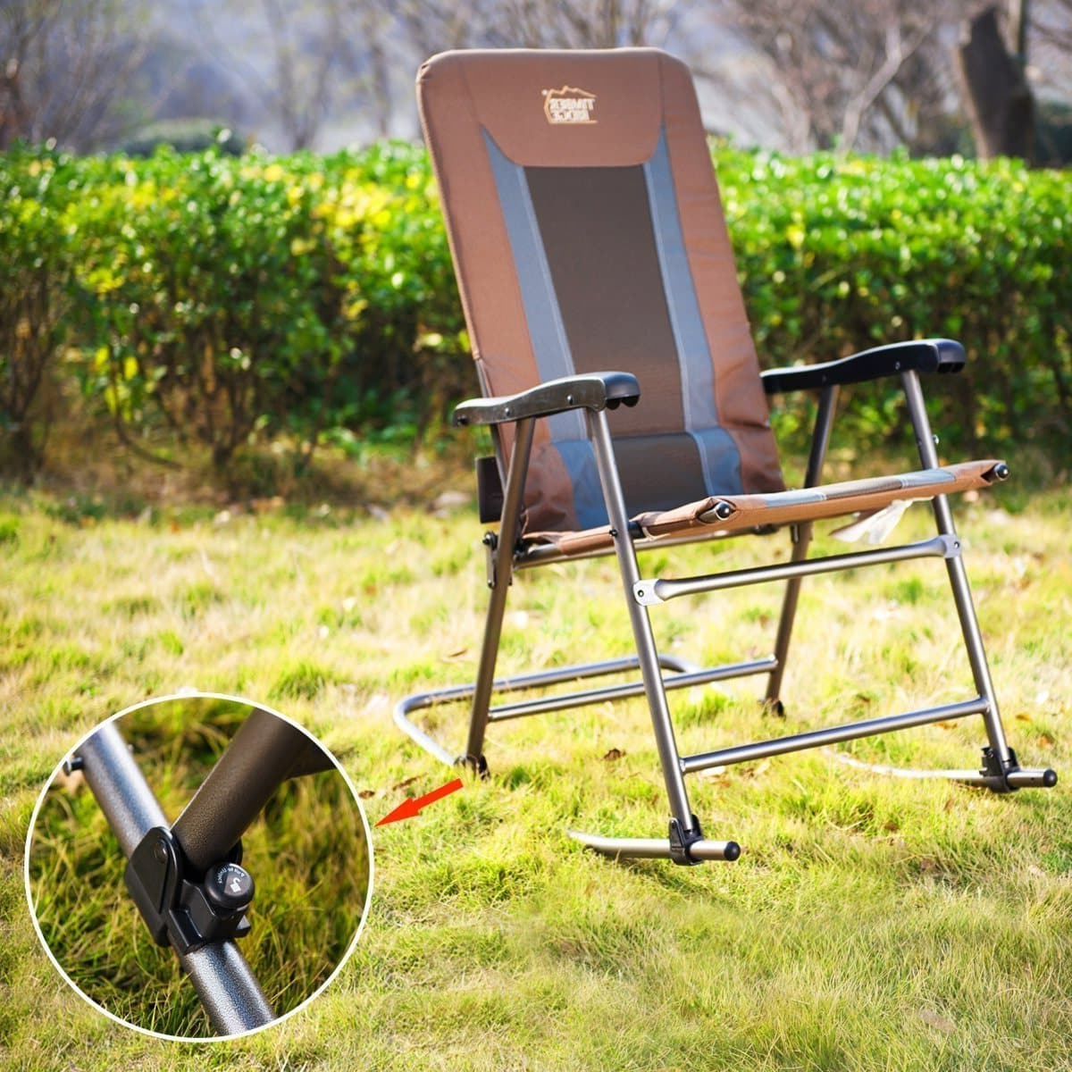Iron Frame Locking Portable Folding Chairs Inside 2020 Top 10 Best Folding Chairs Reviews In 2019 – Top Best Products (Gallery 19 of 25)