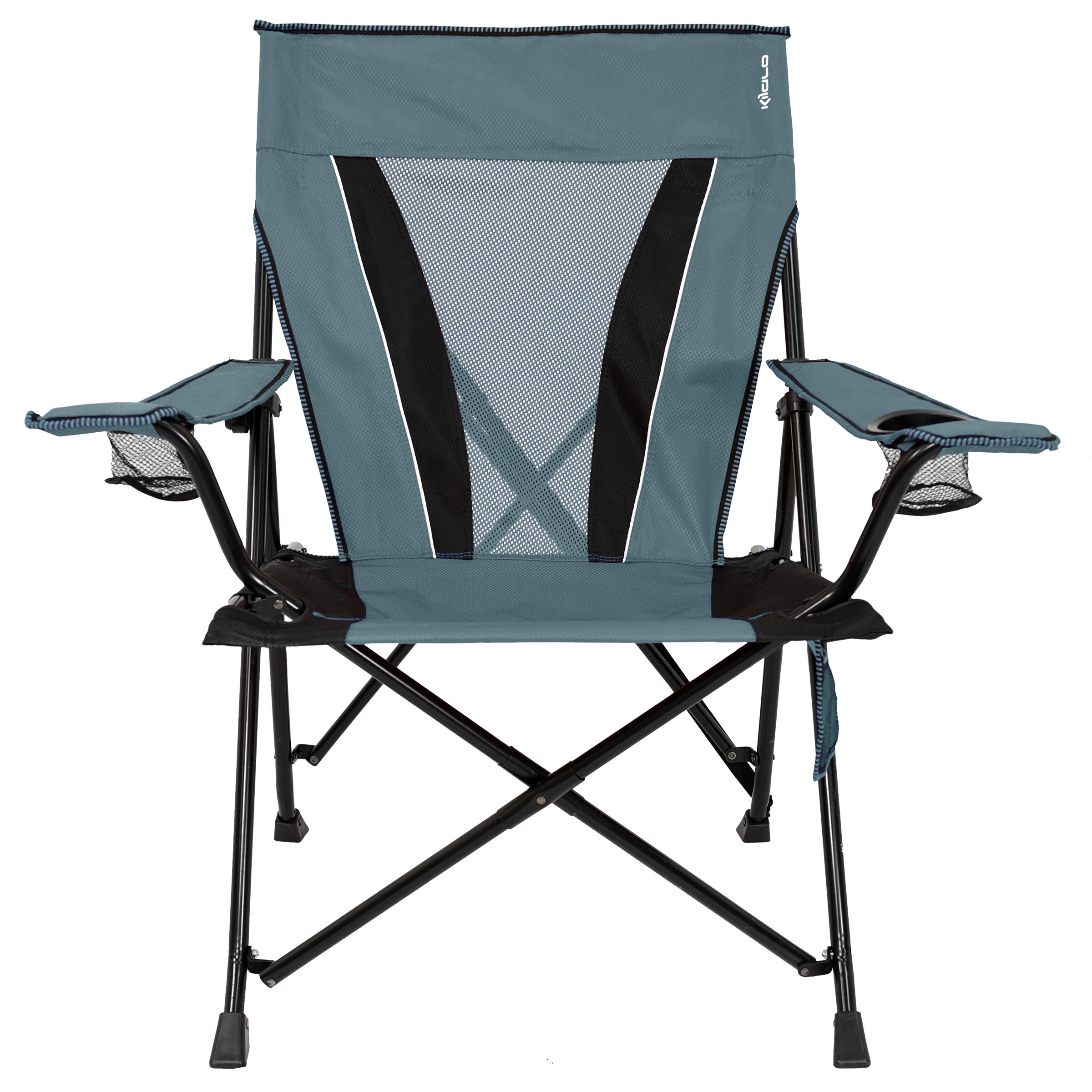Iron Frame Locking Portable Folding Chairs Inside Well Known Xxl Dual Lock Chair – Walmart (View 7 of 25)
