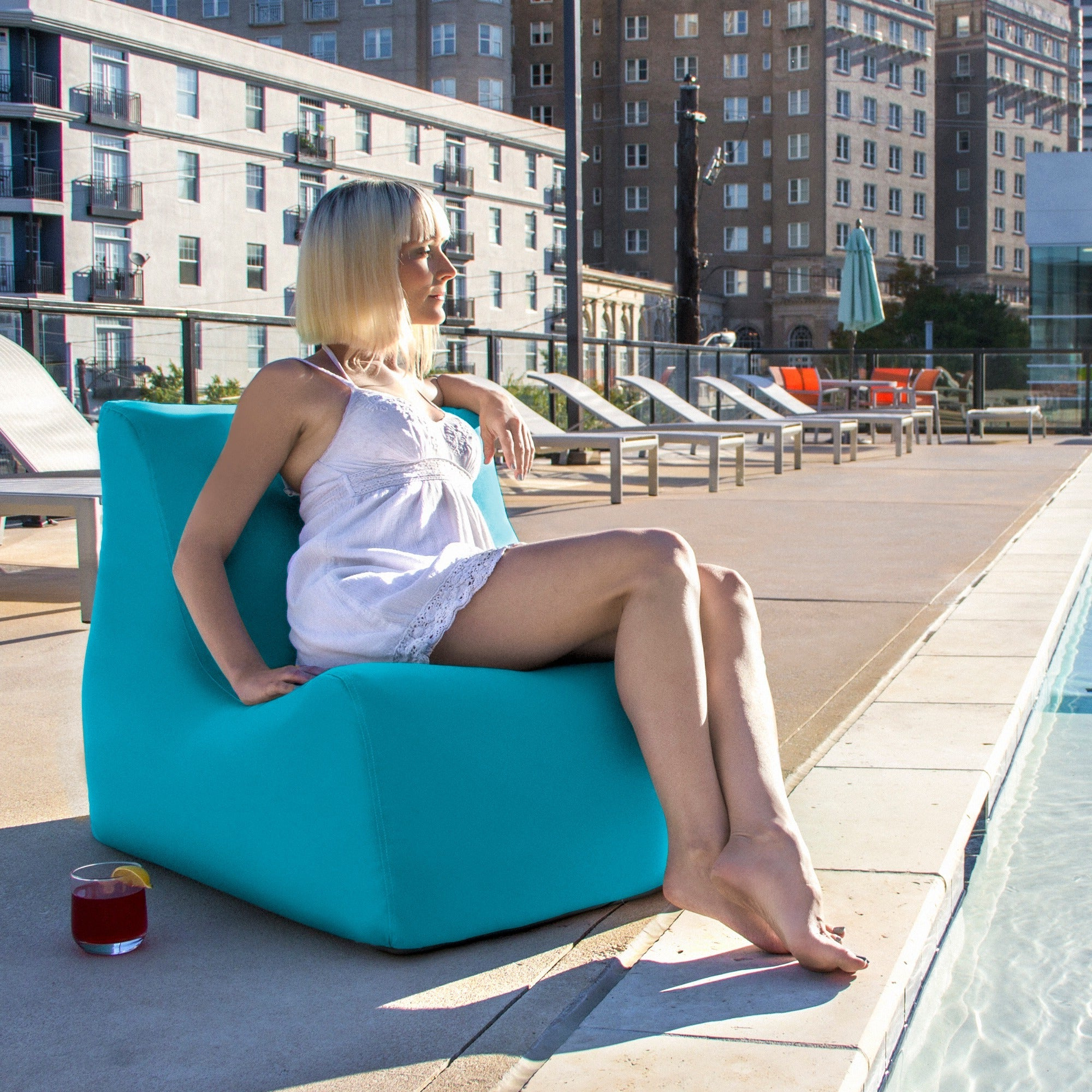Jaxx Ponce Outdoor Bean Bag Patio Chairs Throughout Most Recently Released Jaxx Ponce Outdoor Bean Bag Patio Chair (View 21 of 25)