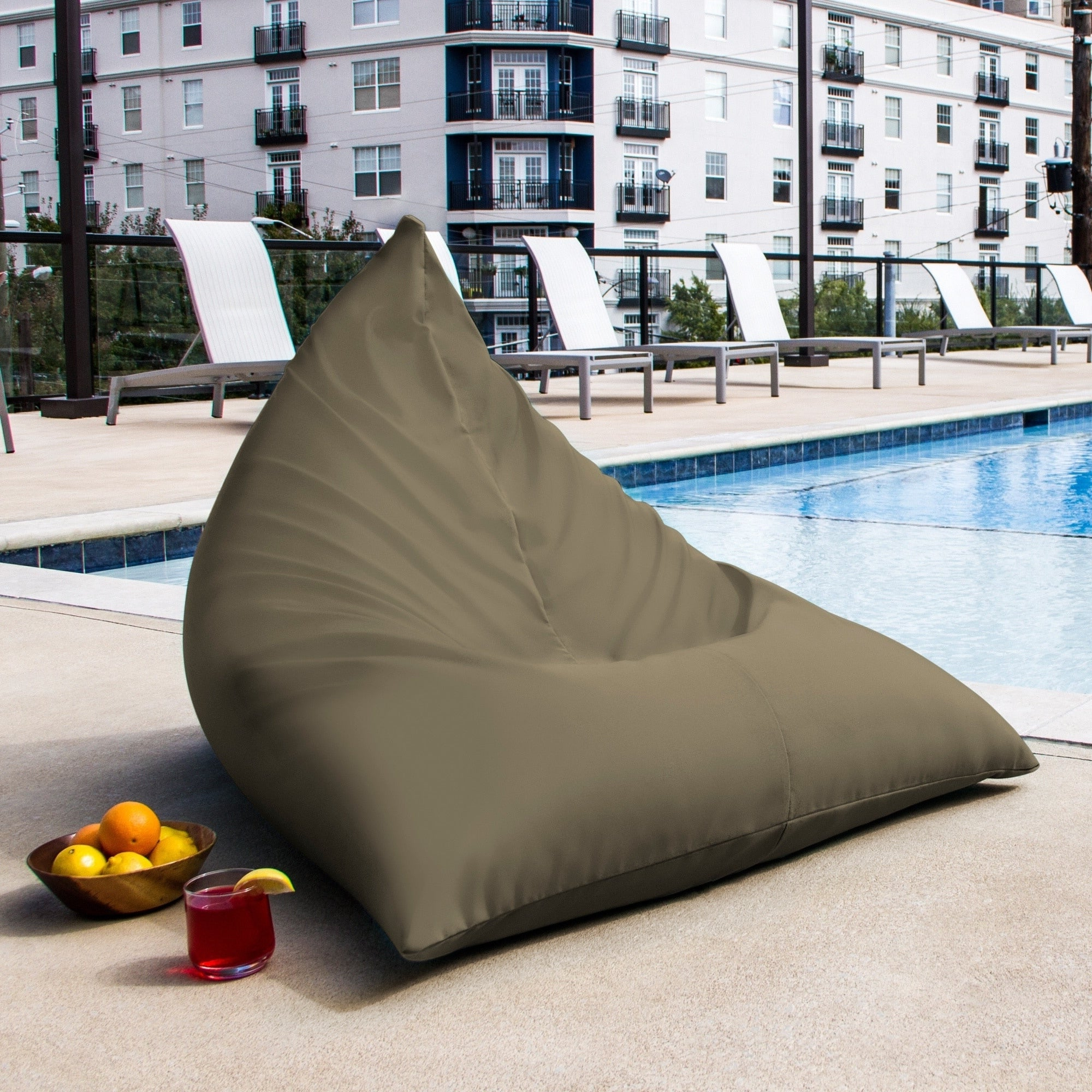 Featured Photo of Jaxx Twist Outdoor Patio Bean Bag Chairs