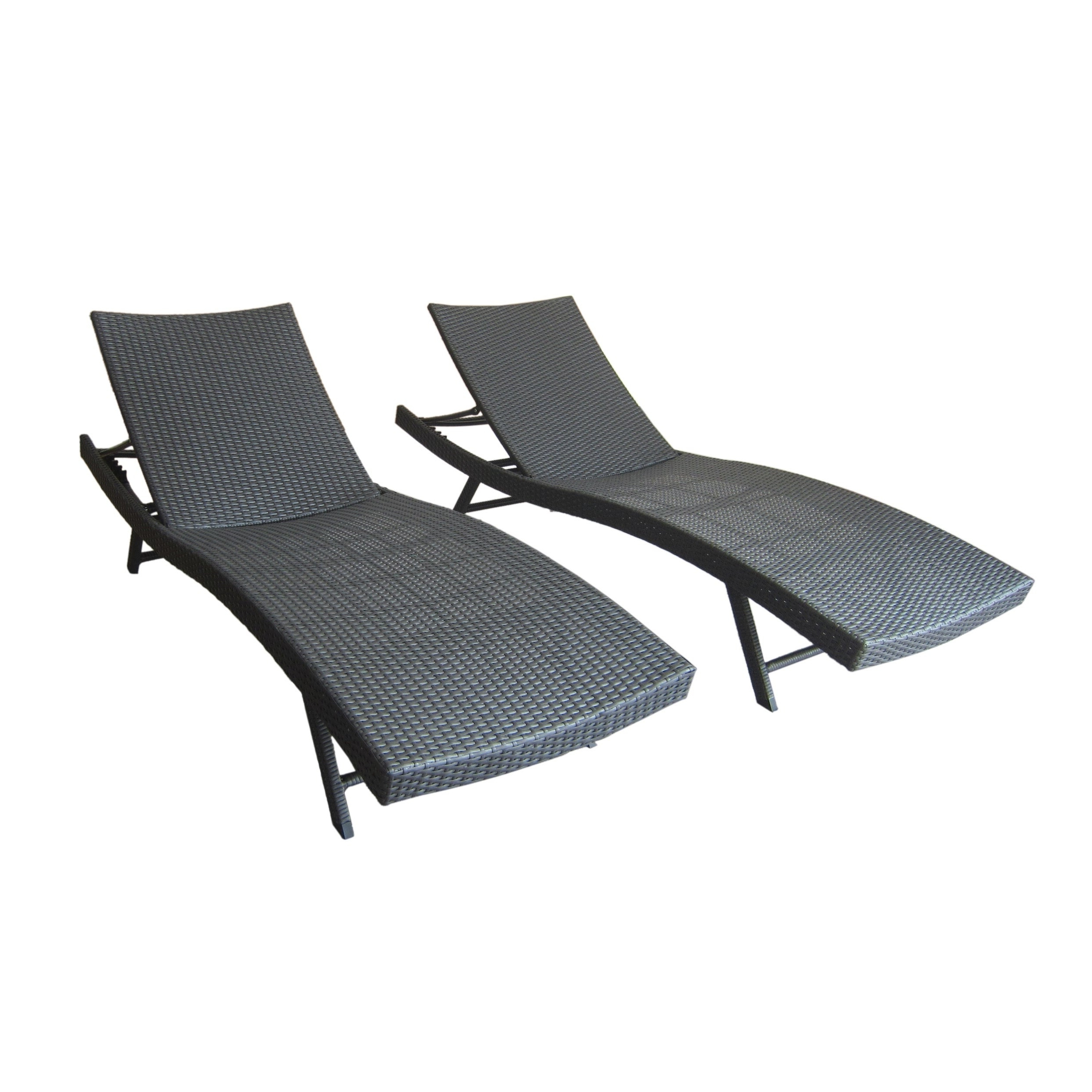 Featured Photo of Kauai Outdoor Wicker Chaise Lounges