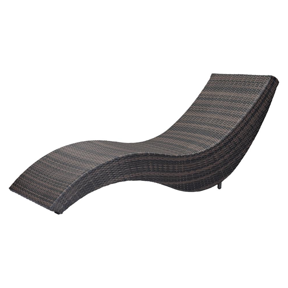 Latest Amazonia Pacific 3 Piece Wheel Lounger Sets With White Cushions Within Zuo Hassleholtz Beach Aluminum Outdoor Chaise Lounge (Gallery 17 of 25)