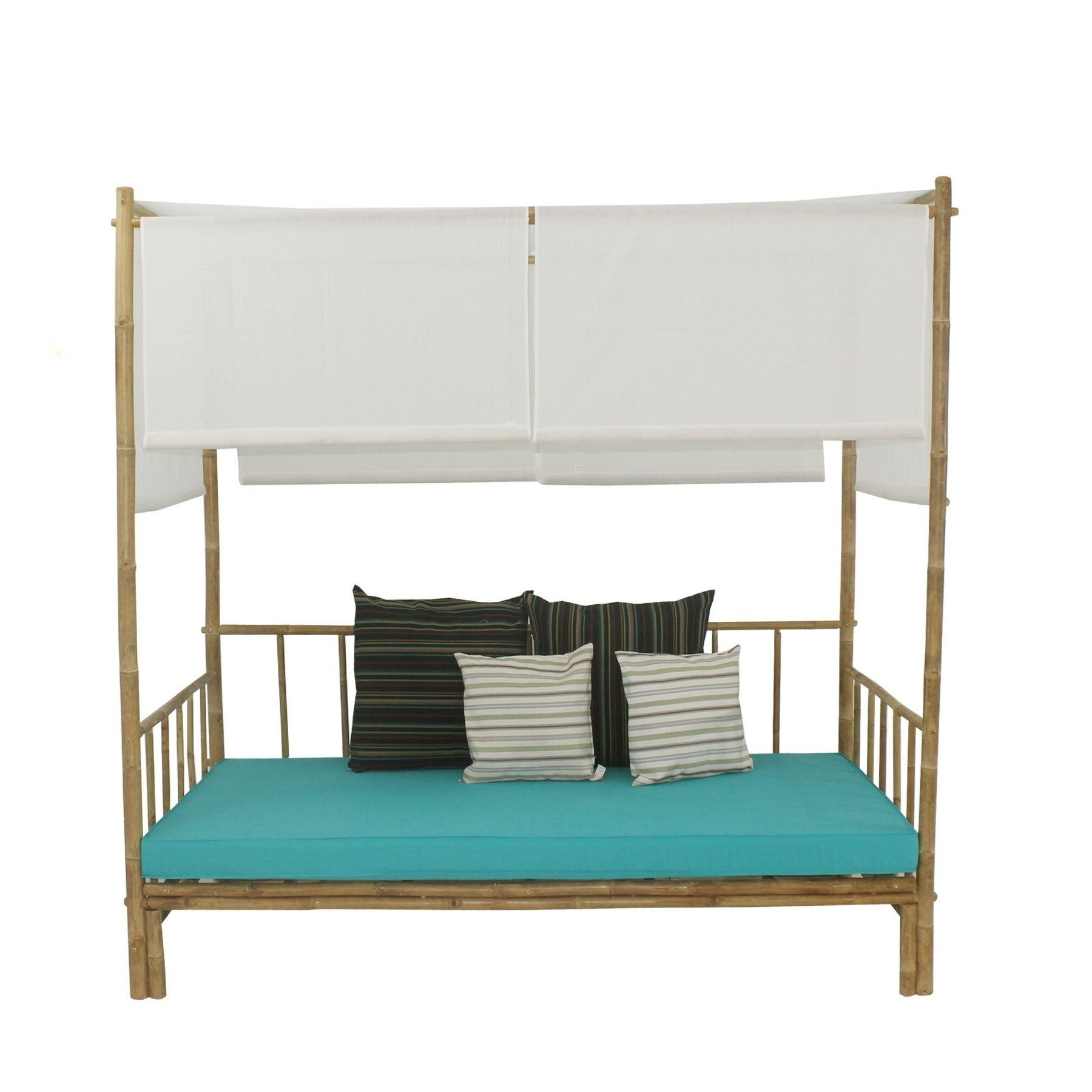 Latest Bamboo Daybeds With Canopy Inside Bamboo Daybed With Canopy (View 7 of 25)