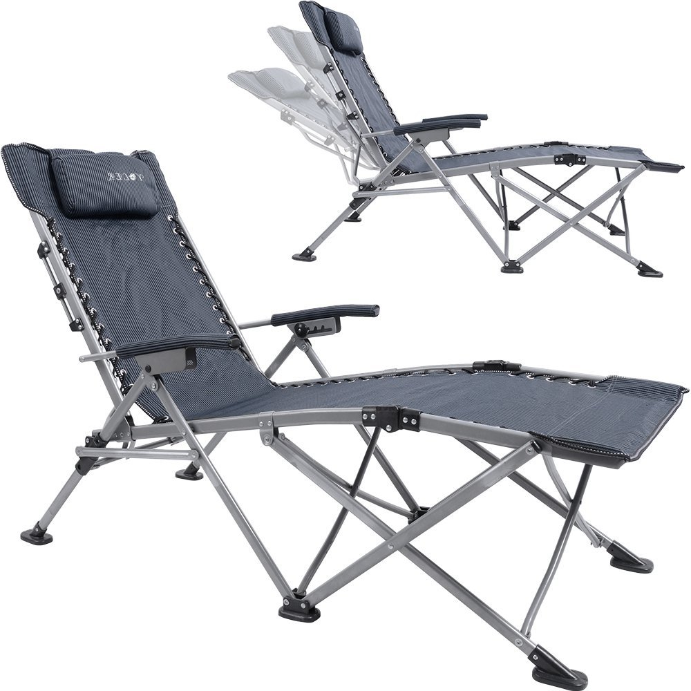 Latest Buy Yoler Sturdy Zero Gravity Lounge Chairs – Adjustable With Portable Reclining Beach Chaise Lounge Folding Chairs (View 20 of 25)
