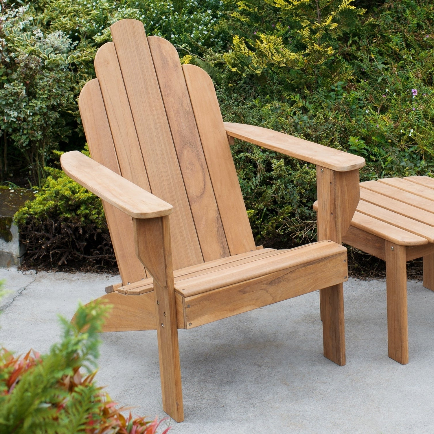 Latest Cambridge Casual Sherwood Teak Chaise Lounges Pertaining To Cambridge Casual Sherwood Teak Adirondack Chair (View 11 of 25)