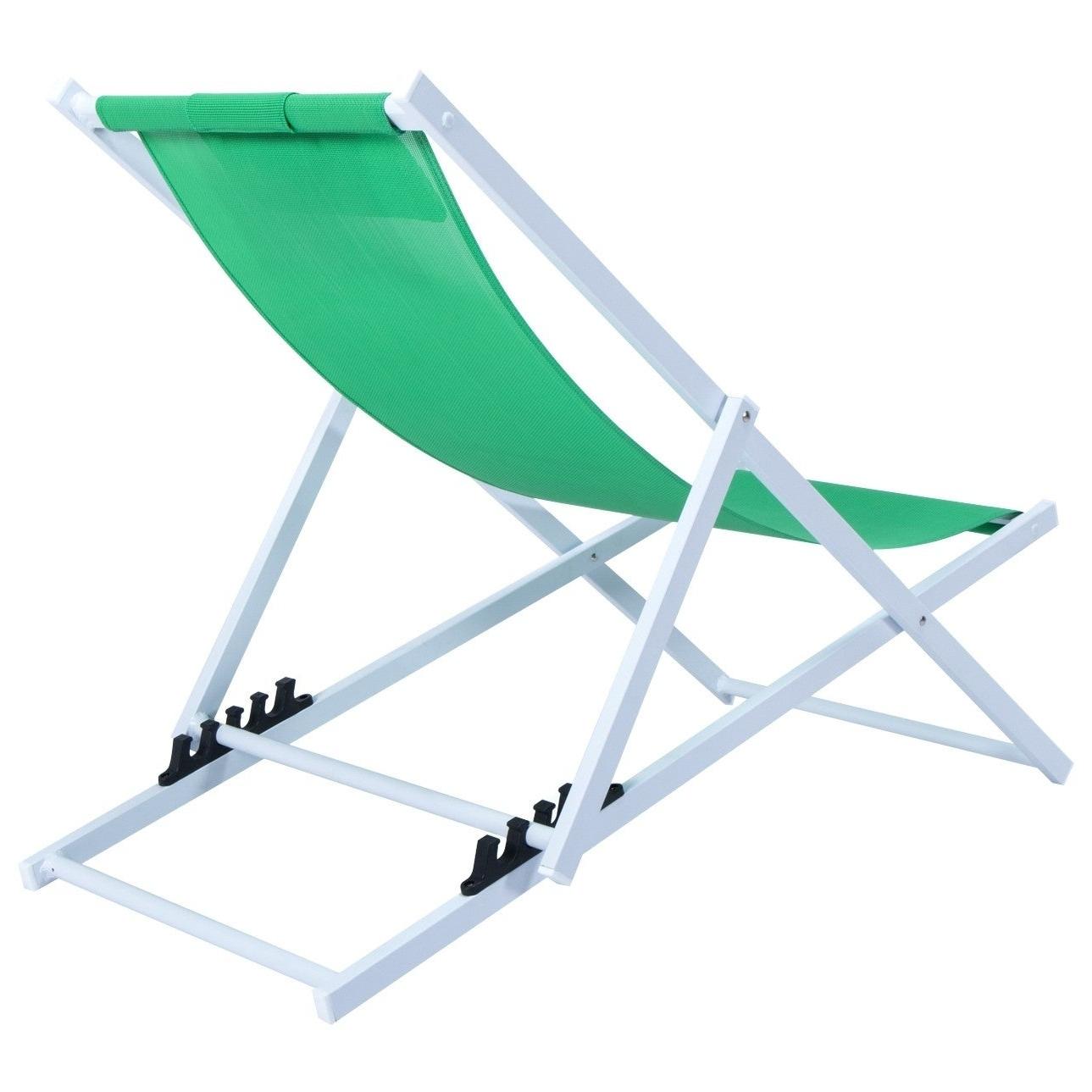 Latest Leisuremod Sunset Patio Sling Folding Chair Adjustable With Headrest Inside Sunset Patio Sling Folding Chairs With Headrest (View 4 of 25)
