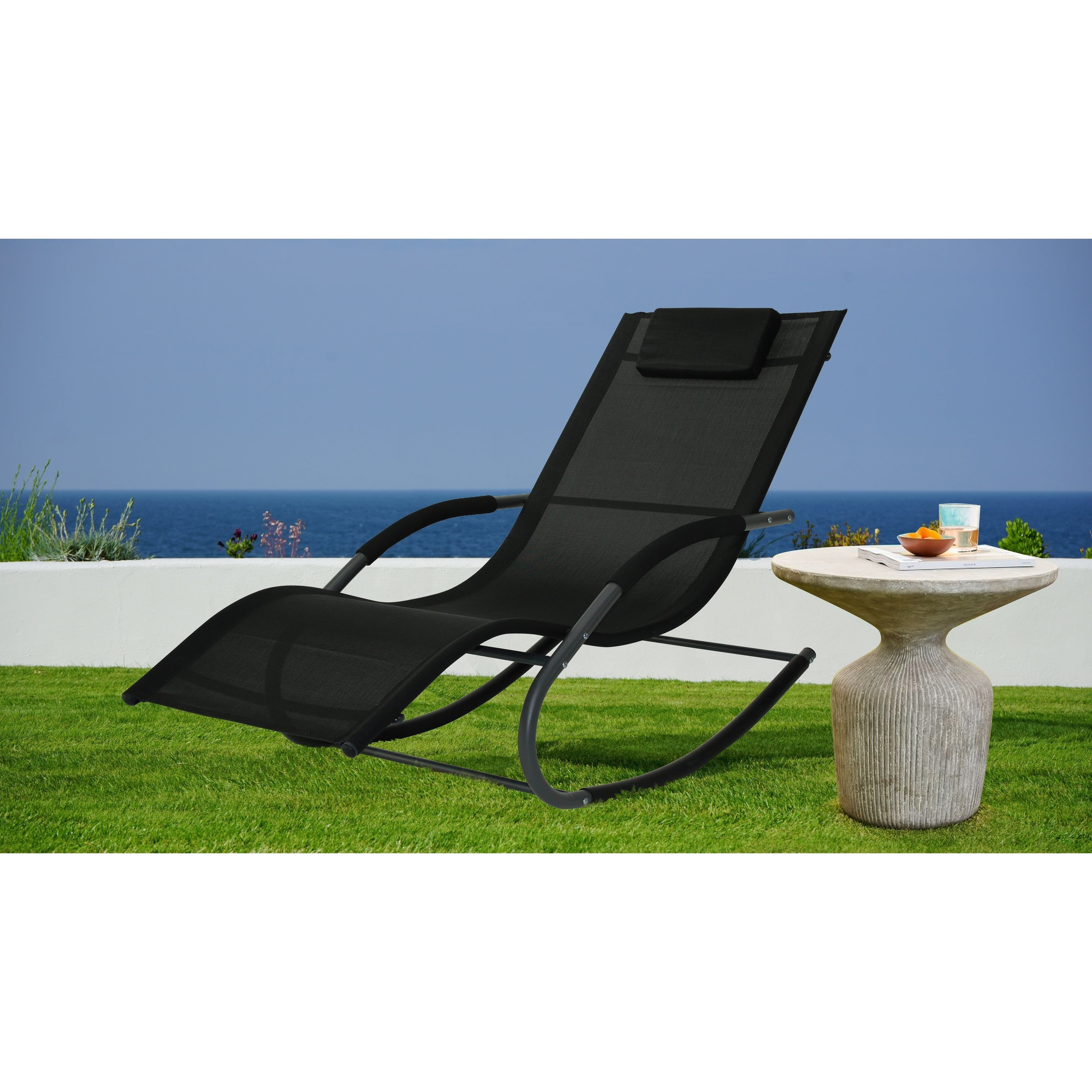 Latest Outdoor Rocking Loungers With Relax A Lounger® Tampa Outdoor Rocking Lounger (View 10 of 25)