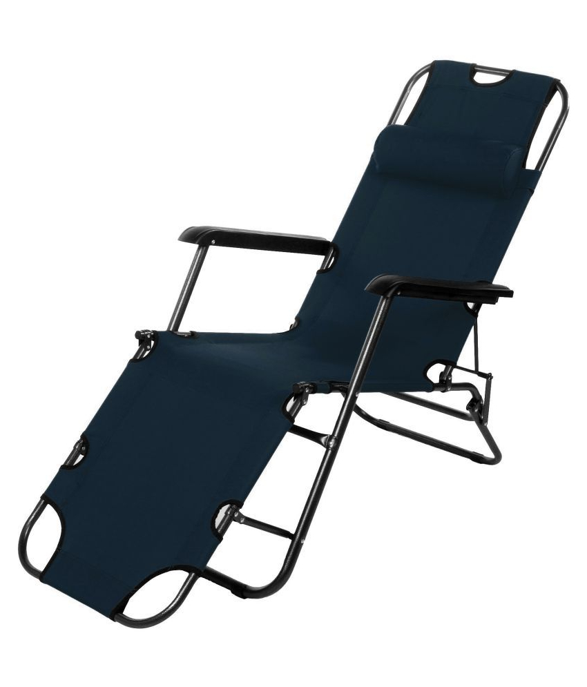 Latest Story@home Folding Recliner Beach Lounge Garden Outdoor Throughout Portable Reclining Beach Chaise Lounge Folding Chairs (View 17 of 25)