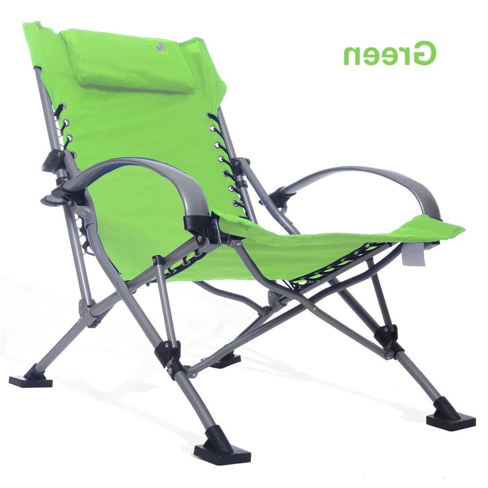 Long Outdoor Picnic Camping Sunbath Beach Chair Zero Gravity Within Popular Portable Reclining Beach Chaise Lounge Folding Chairs (View 24 of 25)