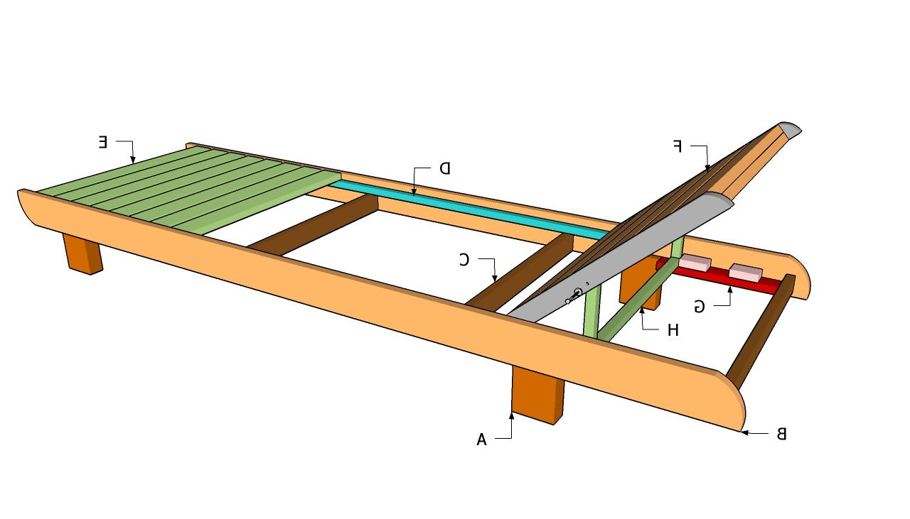 Lounge Chair Plans (View 10 of 25)