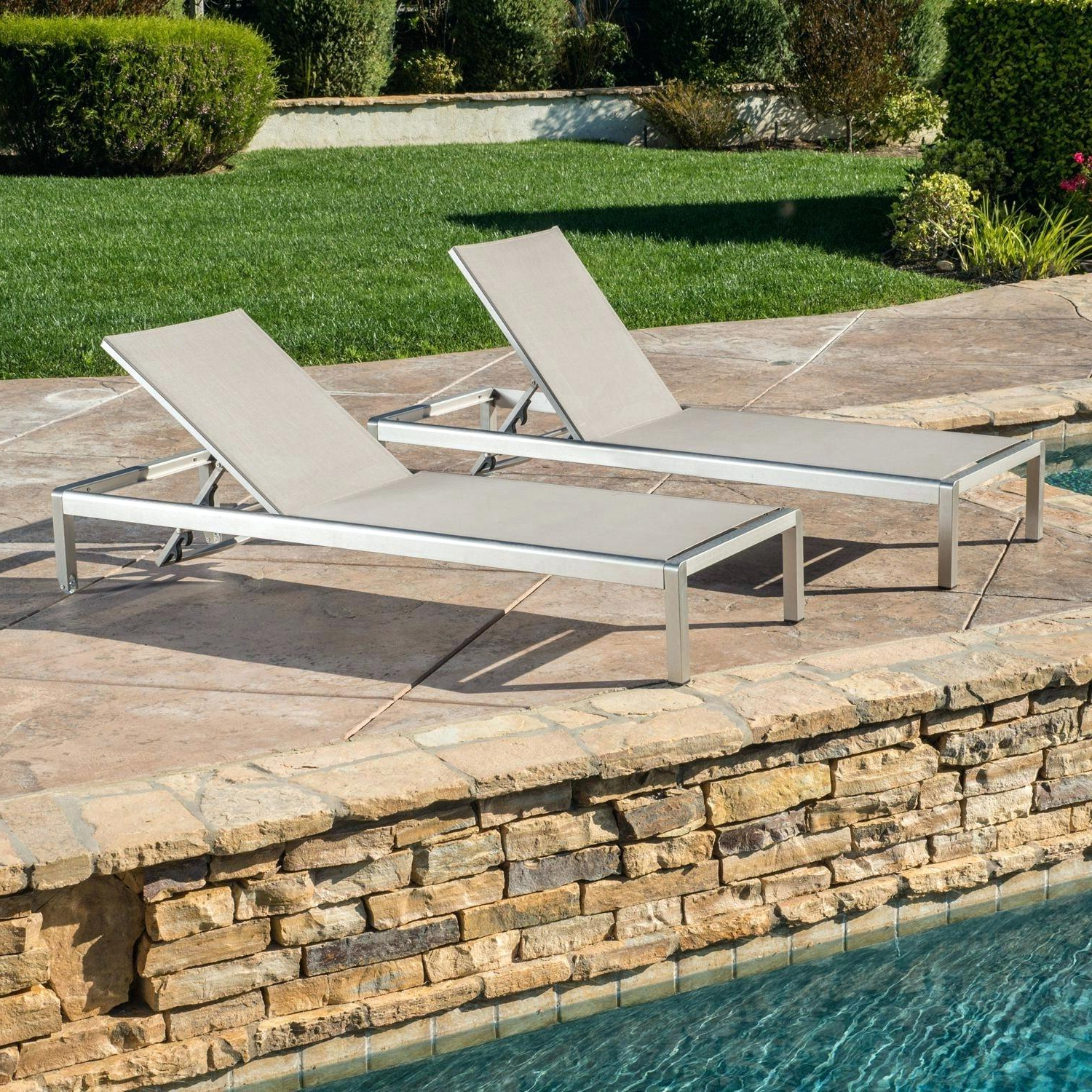 Mesh Lounge Chair Hot Outdoor Chaise Chairs Plastic Lounger Regarding Best And Newest Glimpse Outdoor Patio Mesh Chaise Lounge Chairs (View 24 of 25)