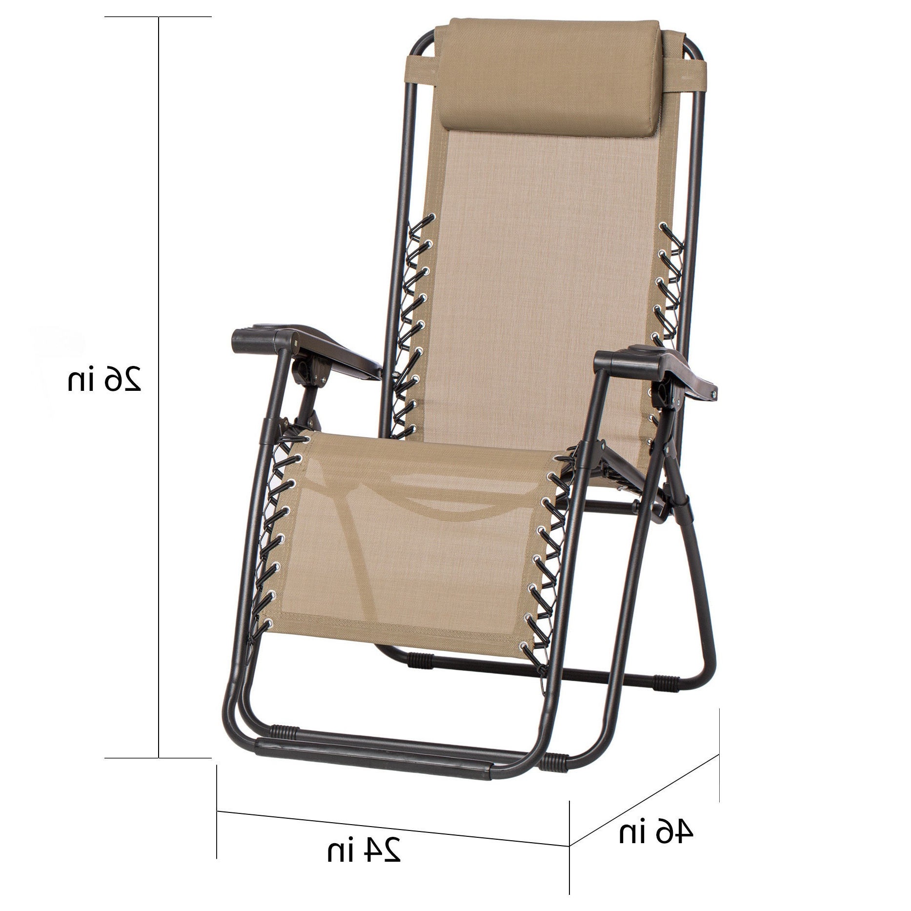 Most Current Caravan Sportsbeige Zero Gravity Chairs (set Of 2) In Caravan Sportsbeige Zero Gravity Chairs (Gallery 3 of 25)