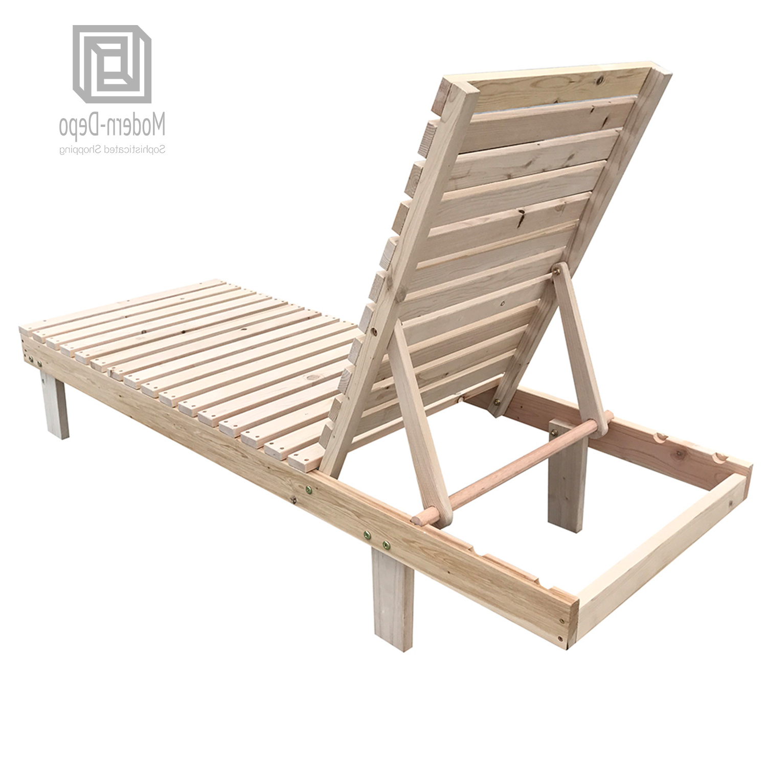 Most Current Details About Patio Spa Pool Wooden Chaise Lounge Adjustable Chair Outdoor Garden Furniture Pertaining To Outdoor Adjustable Wood Chaise Lounges (View 16 of 25)