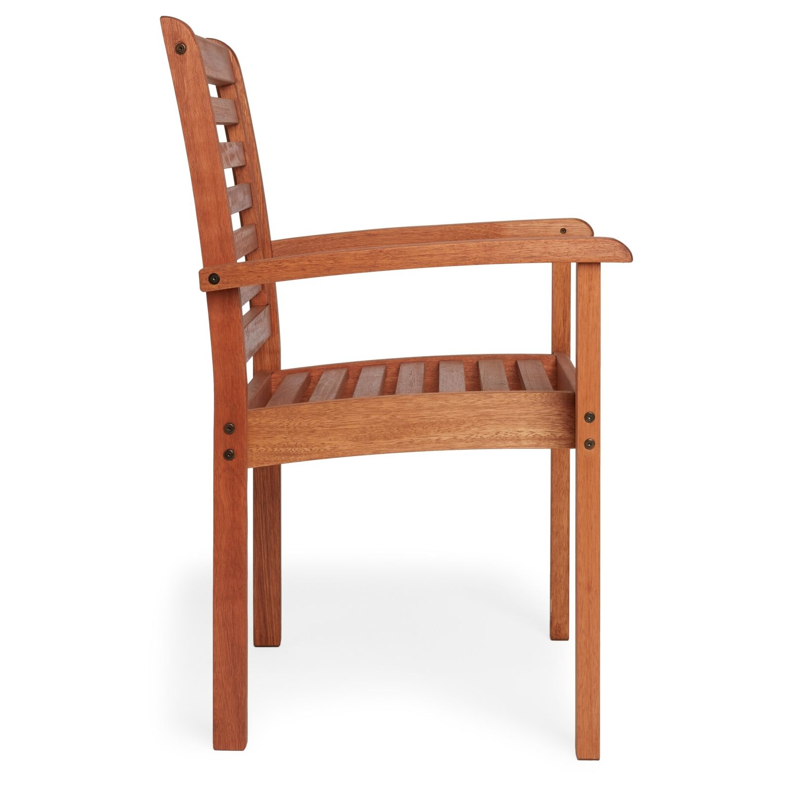 Most Current Havenside Home Tottenville Eucalyptus Wood Stackable Chair – Brown N/a Regarding Havenside Home Tottenville Eucalyptus Loungers (Gallery 10 of 25)