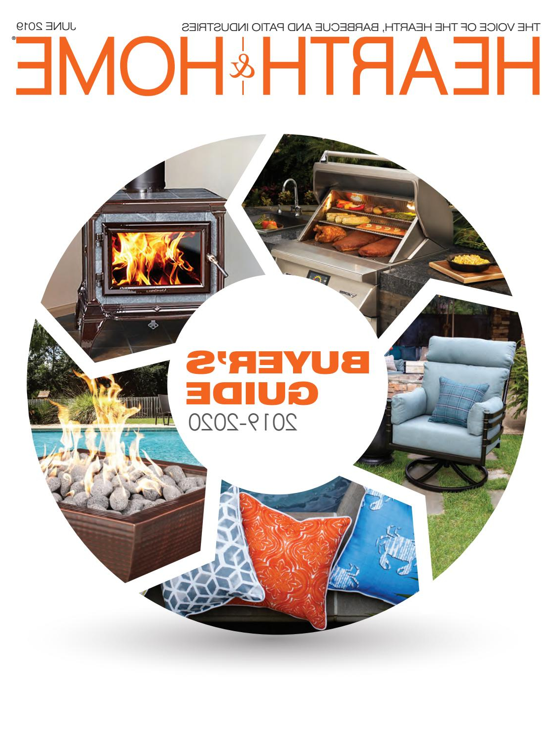 Most Current Hearth & Home Magazine – 2019 Buyer's Guidehearth & Home Intended For Hiteak Pearl Chaise Lounges In Black Mesh Fabric (Gallery 19 of 25)