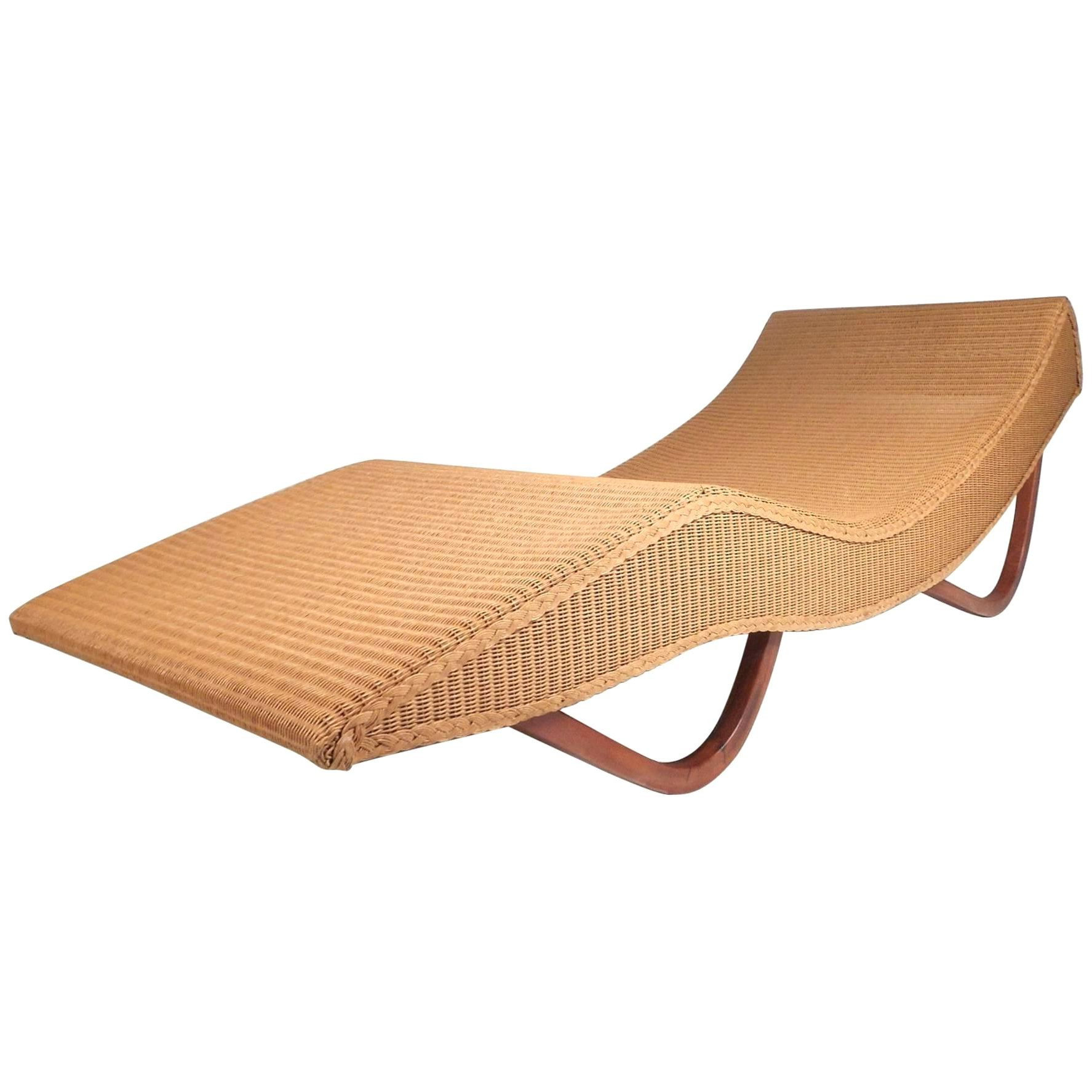 Most Current Kauai Outdoor Wicker Chaise Lounges Inside Loom Wicker Chaise For Sale Lounge With Arms Id F (Gallery 12 of 25)
