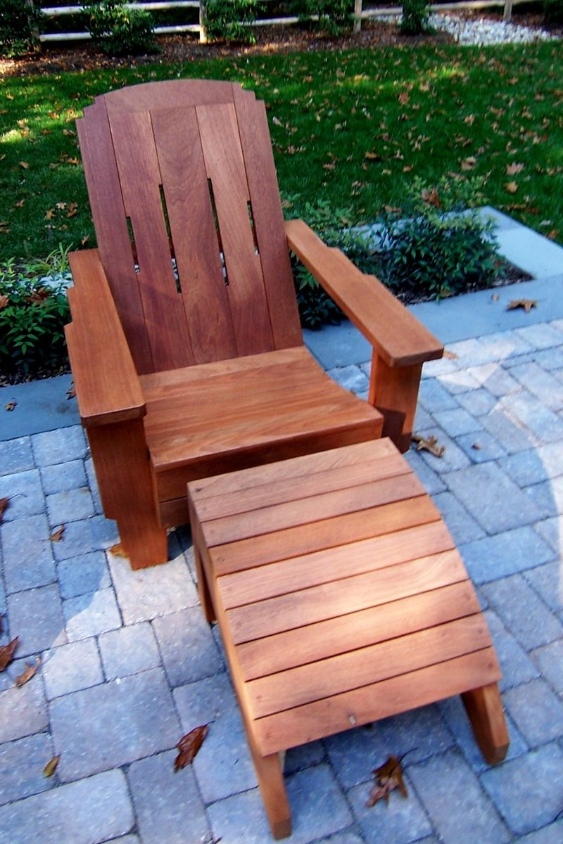 Most Current Mahogany Adirondack Chairs With Ottoman Inside Adirondack Chair Of Mahogany (Gallery 6 of 25)