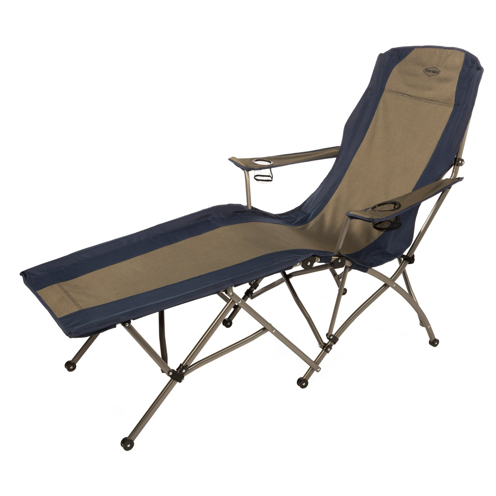 Most Current Outdoor Kamp Rite Soft Arm Folding Chaise Lounge Chair Regarding Foldable Camping And Lounge Chairs (View 14 of 25)