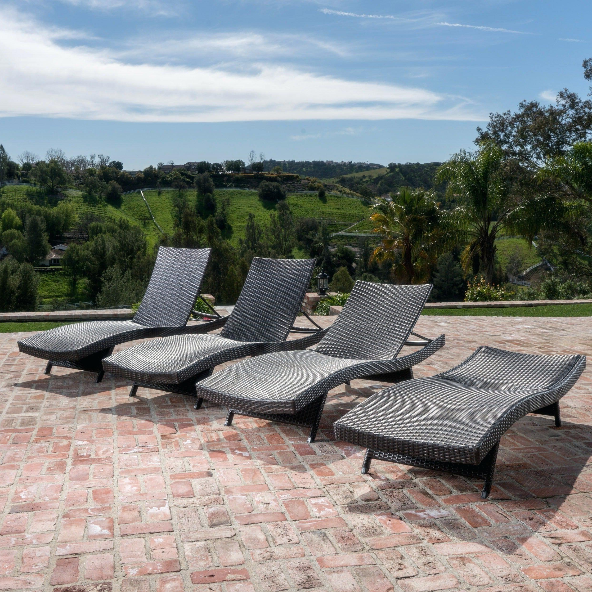 Most Current Outdoor Patio Lounge Chairs Swing Fabric Chair Folding Throughout Glimpse Outdoor Patio Mesh Chaise Lounge Chairs (View 25 of 25)