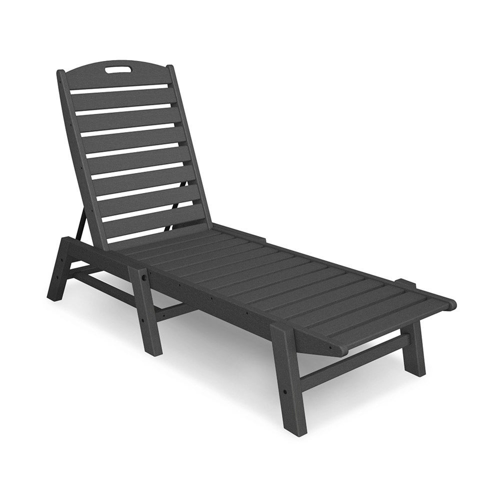 Most Current Polywood® Nautical Outdoor Chaise Lounge, Stackable Inside Nautical Outdoor Chaise Lounges With Arms (View 10 of 25)