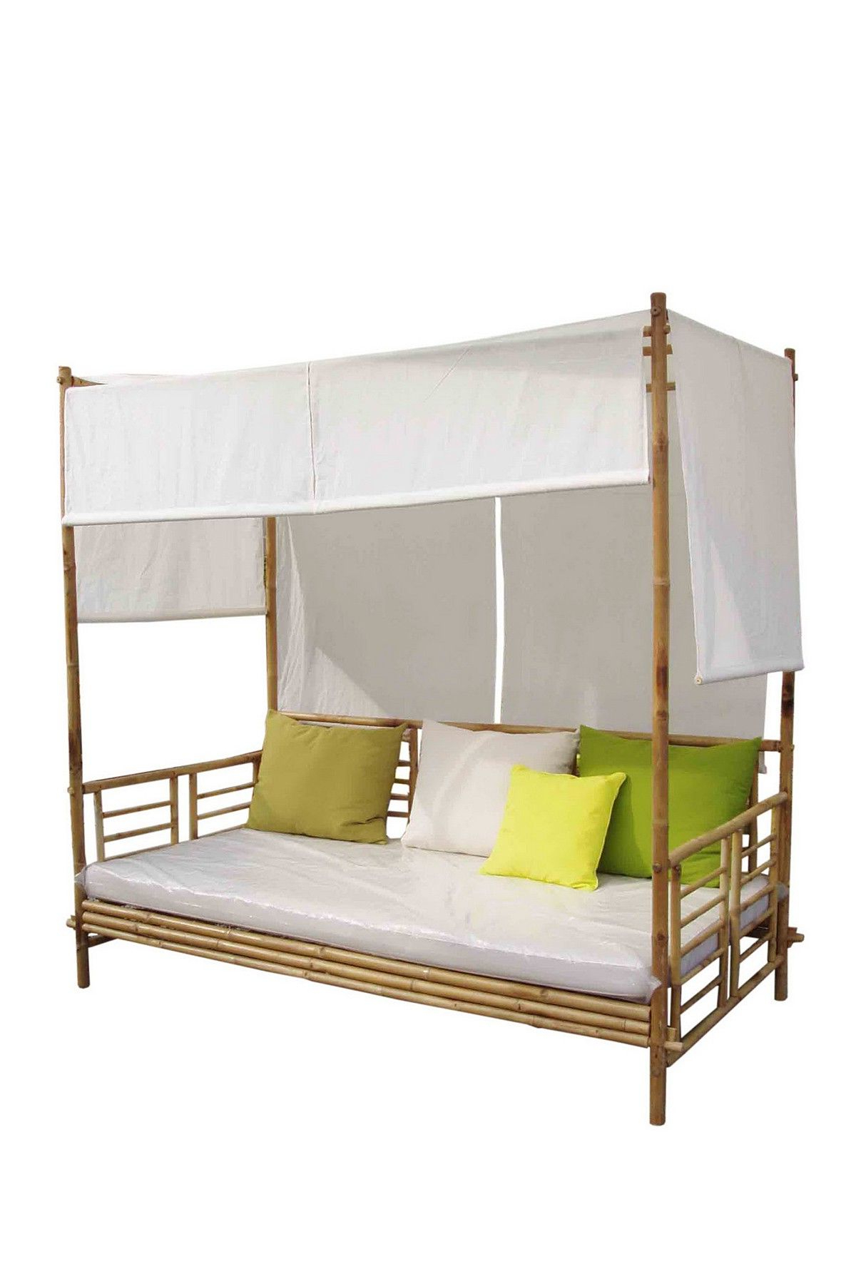 Most Popular Bamboo Daybeds With Canopy Regarding Bamboo Daybed With Canopy – I Would Be On This Everyday (View 3 of 25)