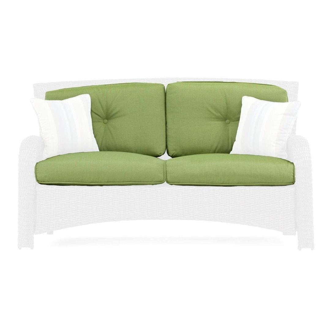 Most Popular Gratifying Outdoor Loveseat Replacement Cushions Throughout Havenside Home Newtok Mesh Reclining Patio Loungers (View 20 of 25)