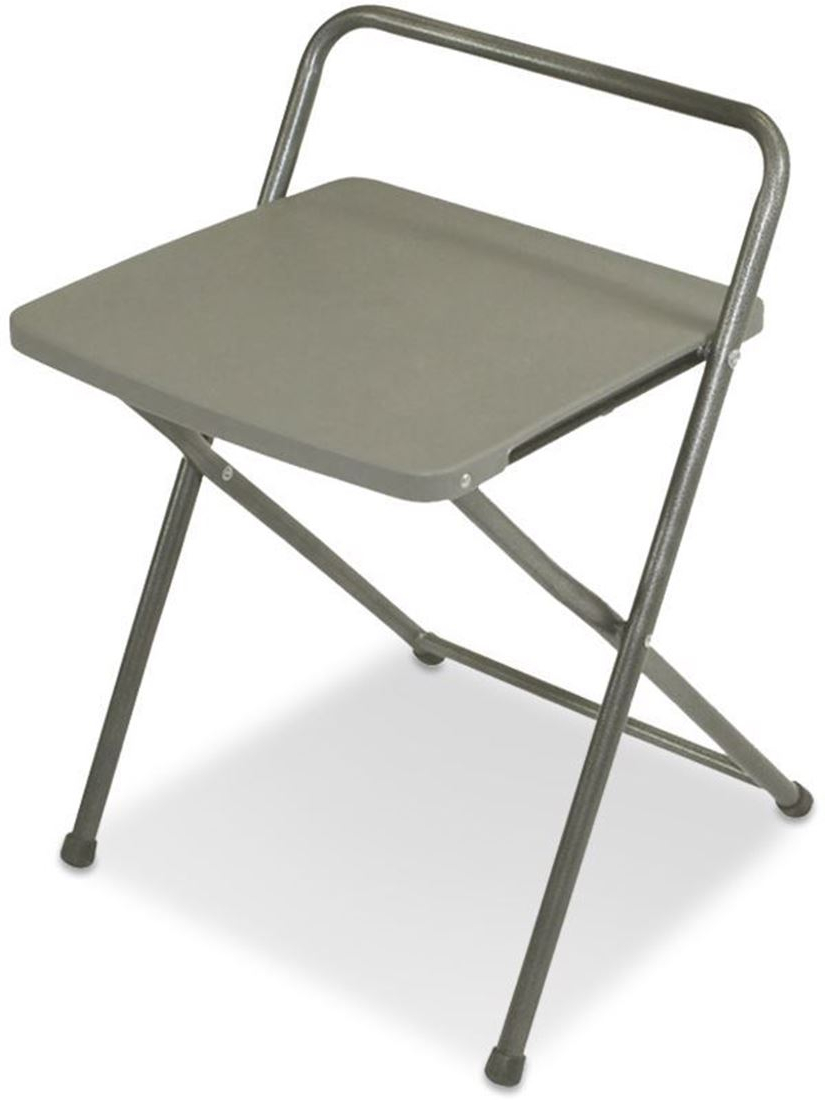 Most Popular Iron Frame Locking Portable Folding Chairs In Utility Stool & Side Table (View 23 of 25)