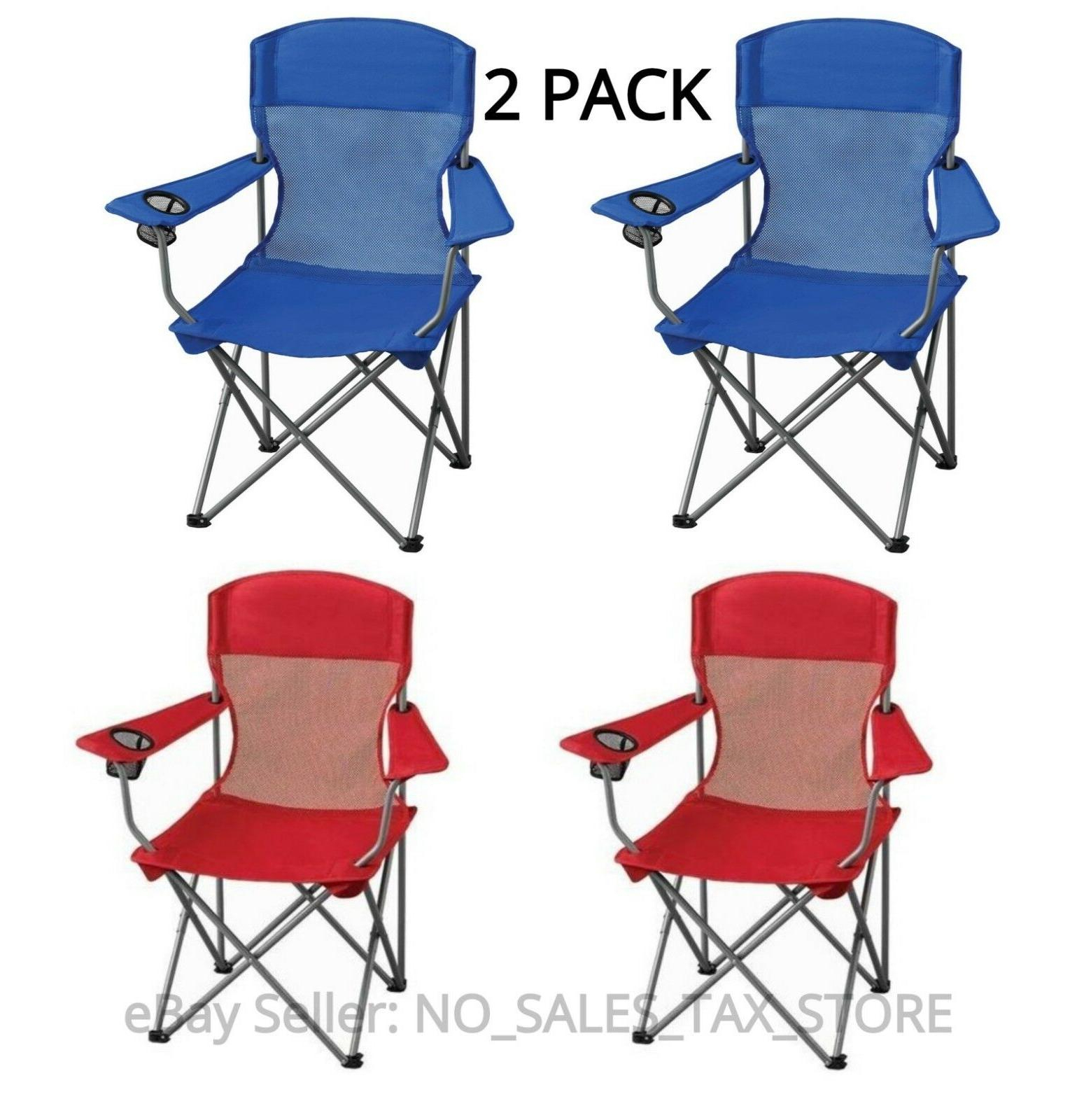 Most Recent Iron Frame Locking Portable Folding Chairs Pertaining To Folding Outdoor Portable Chair Seat Camping Fishing Picnic (View 15 of 25)