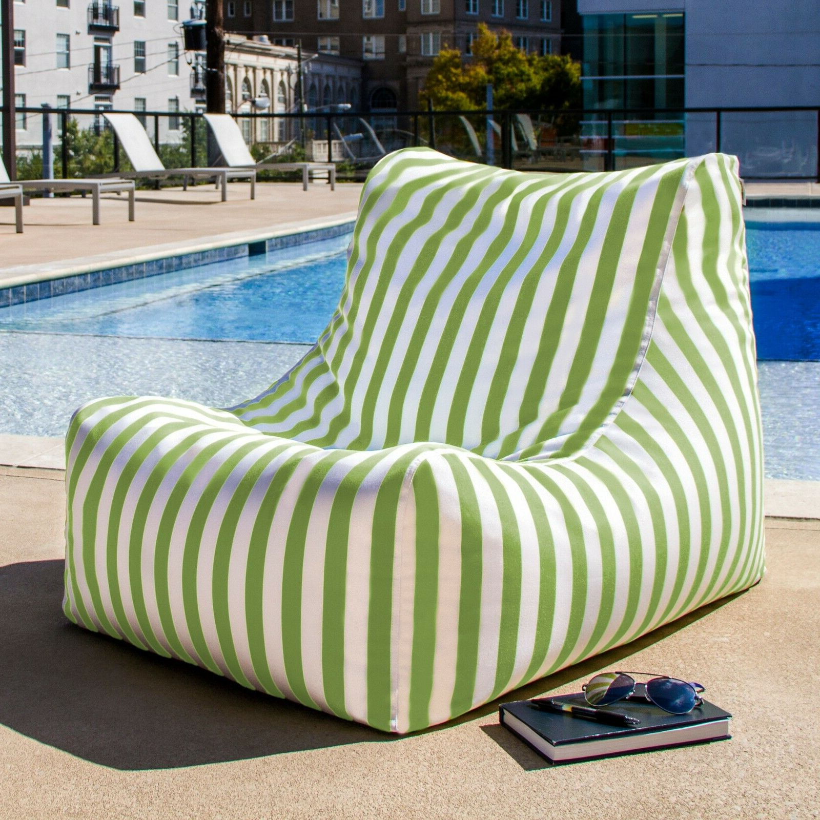Most Recent Jaxx Ponce Outdoor Bean Bag Patio Chairs For Jaxx Ponce Outdoor Bean Bag Lounge Chair (Gallery 9 of 25)