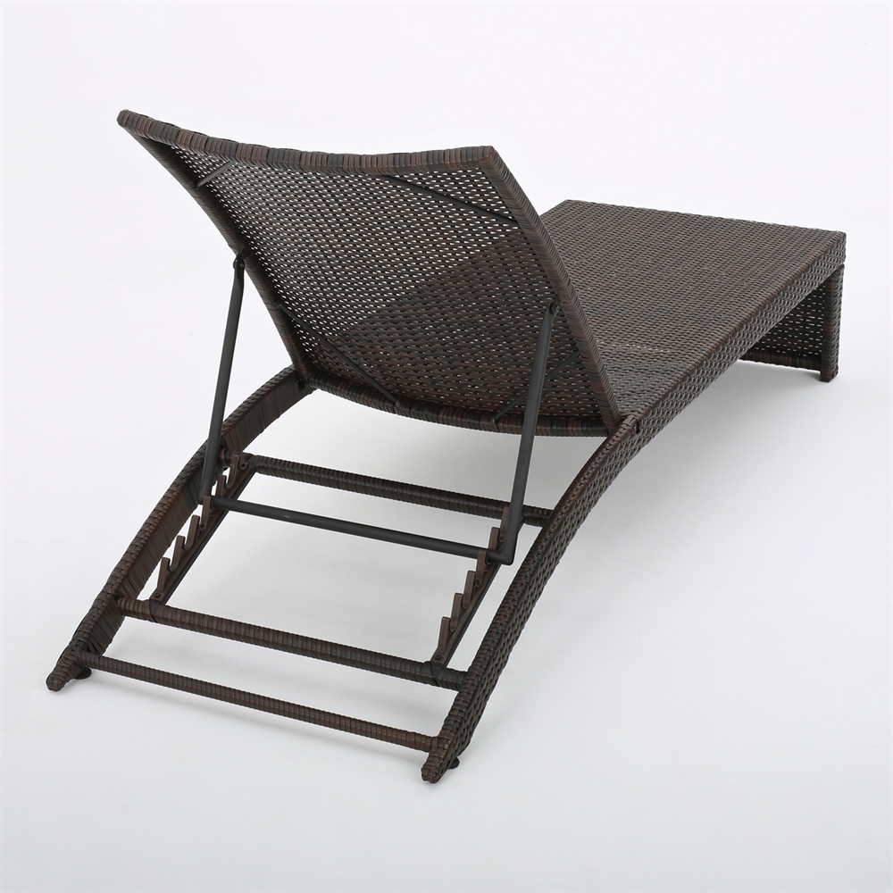 Most Recent Kauai Outdoor Wicker Chaise Lounges In Best Selling Home Decor 29726 Turin Adjustable Outdoor Wicker Chaise Lounge (View 20 of 25)