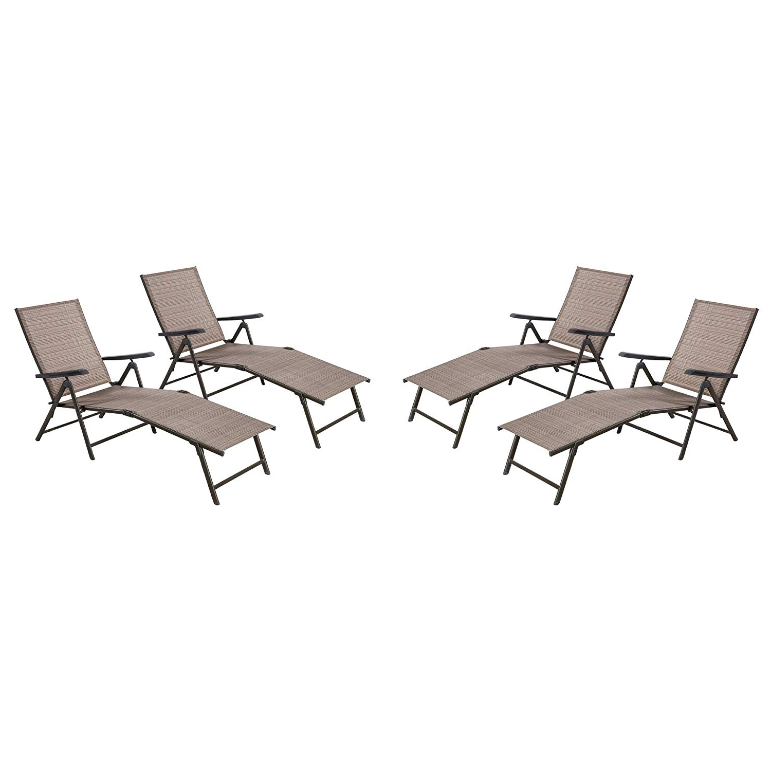 Most Recent Outdoor Yard Pool Recliner Folding Lounge Table Chairs Regarding Cheap Pool Chaise Loungers, Find Pool Chaise Loungers Deals (View 16 of 25)
