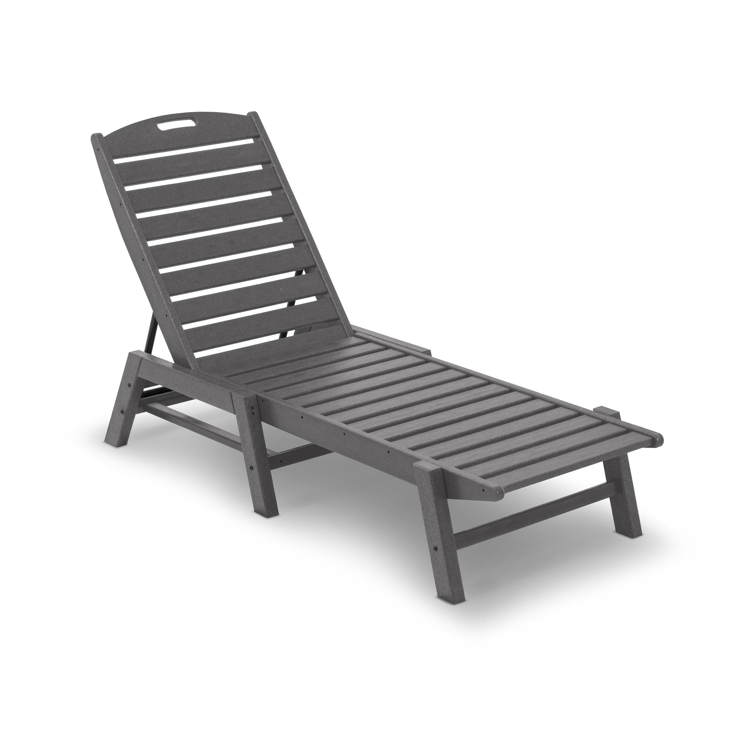 Most Recently Released Stackable Nautical Outdoor Chaise Lounges In Polywood® Nautical Outdoor Chaise Lounge, Stackable (View 8 of 25)