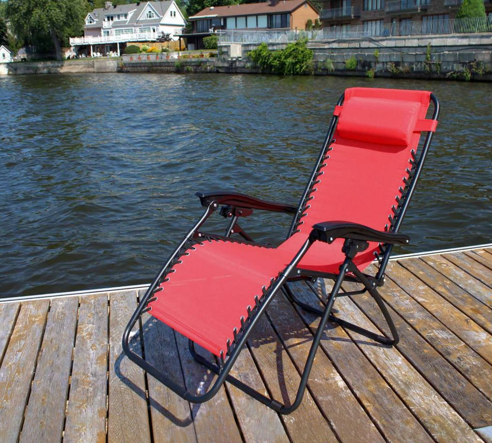 Most Up To Date Corliving Riverside Textured Loungers Within Casual Chair Red (View 17 of 25)