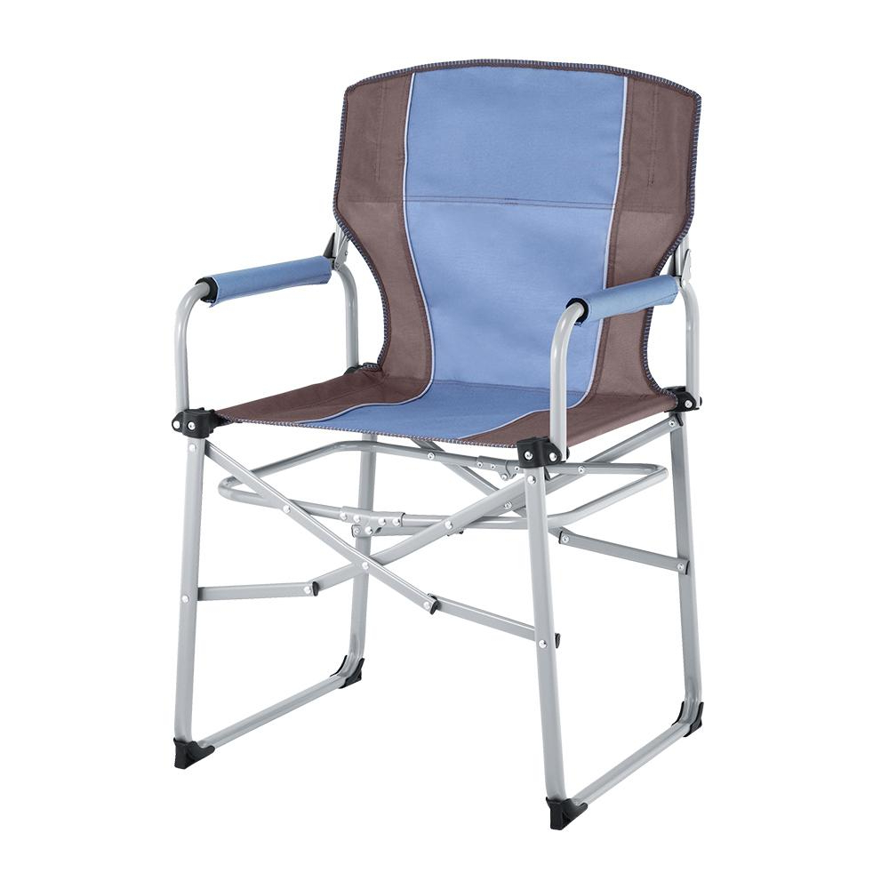 Most Up To Date Iron Frame Locking Portable Folding Chairs Intended For Portable Metal Director Chair Ac3008 – The Home Depot (View 5 of 25)