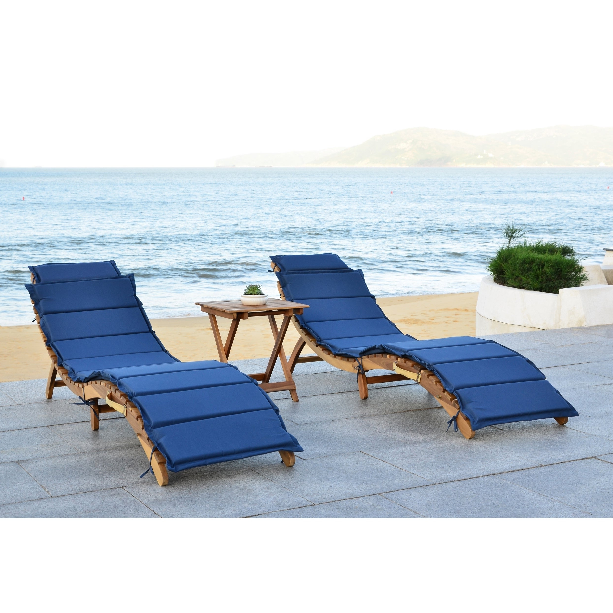 Featured Photo of Outdoor Living Pacifica Piece Lounge Sets
