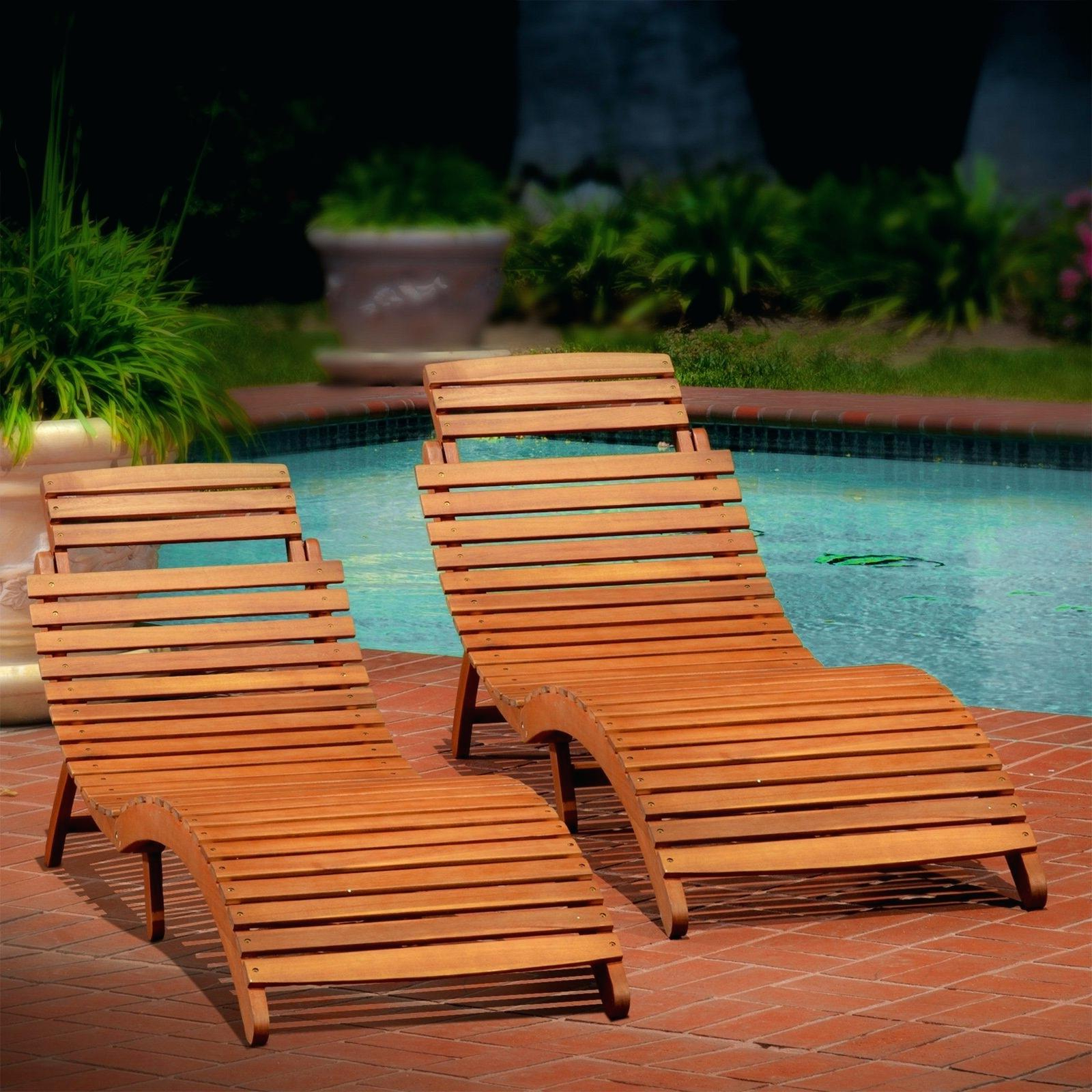 Most Up To Date Wood Blue And White Cushion Outdoor Chaise Lounge Chairs Pertaining To Remarkable Pool Chaise Lounge Clearance Patio Marvellous (View 15 of 25)
