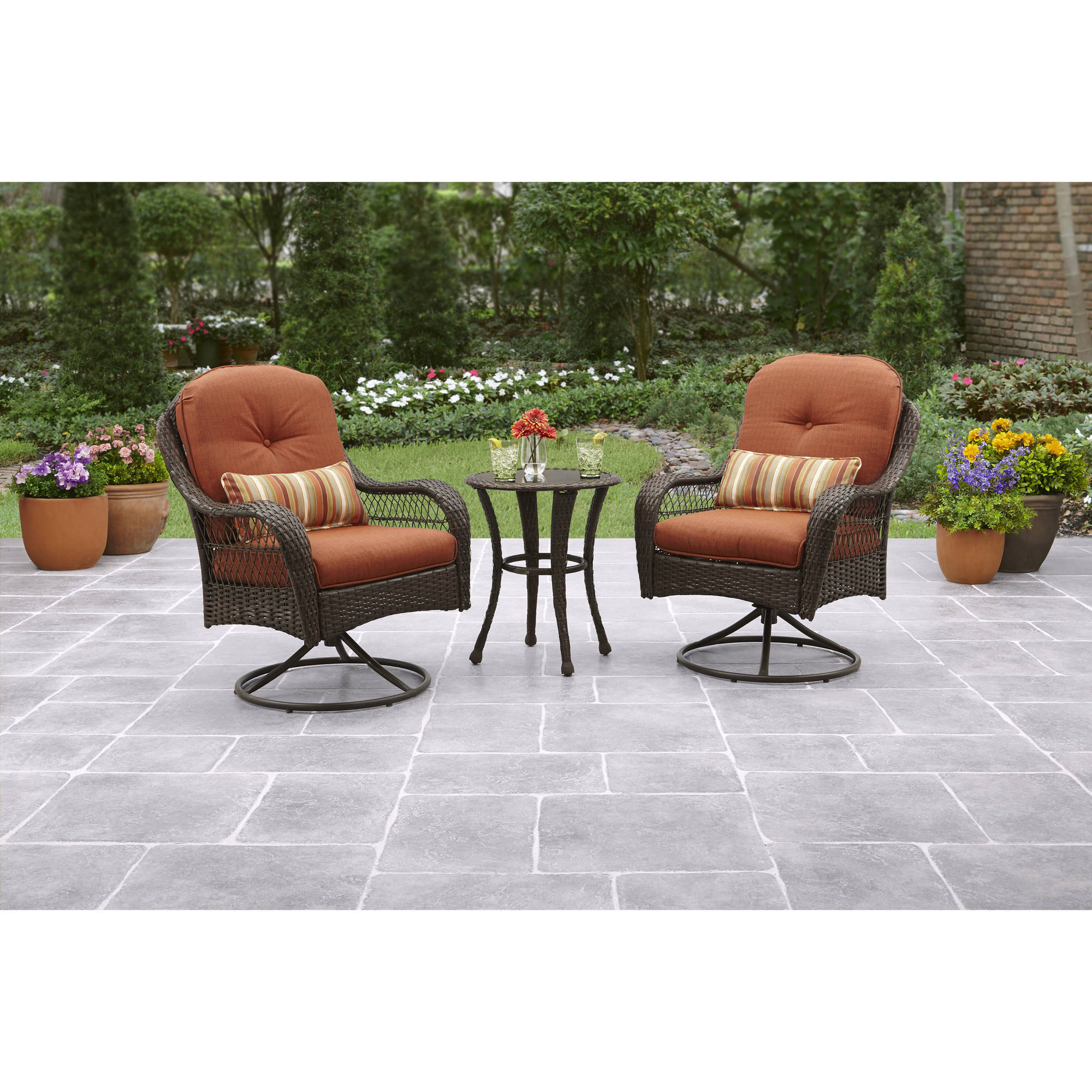 Featured Photo of 3 Piece Patio Lounger Sets