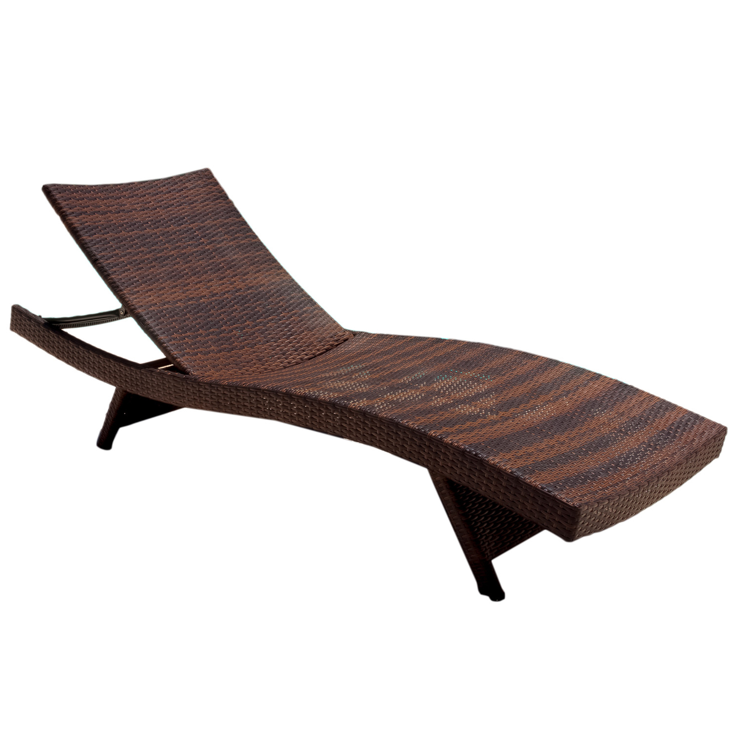 Newest Garden Furniture Rattan Adjustable Delightful Outsunny Patio Pertaining To Standard Size Chaise Lounge Chairs (View 25 of 25)
