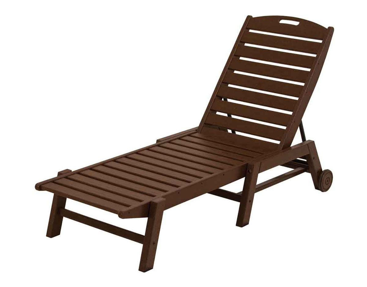 Newest Nautical Outdoor Chaise Lounges With Arms Within Nautical Wheeled Chaise Naw (View 21 of 25)
