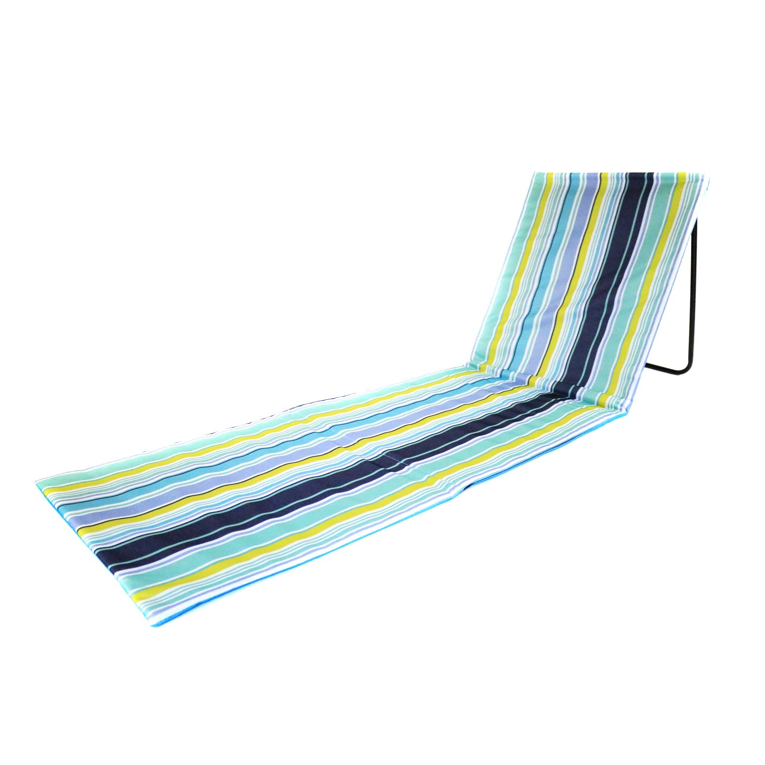 Newest Portable Extendable Folding Reclining Chairs With Regard To Portable Beach Mat Folding Chair Sun Lounger Outdoor Camping (View 17 of 25)