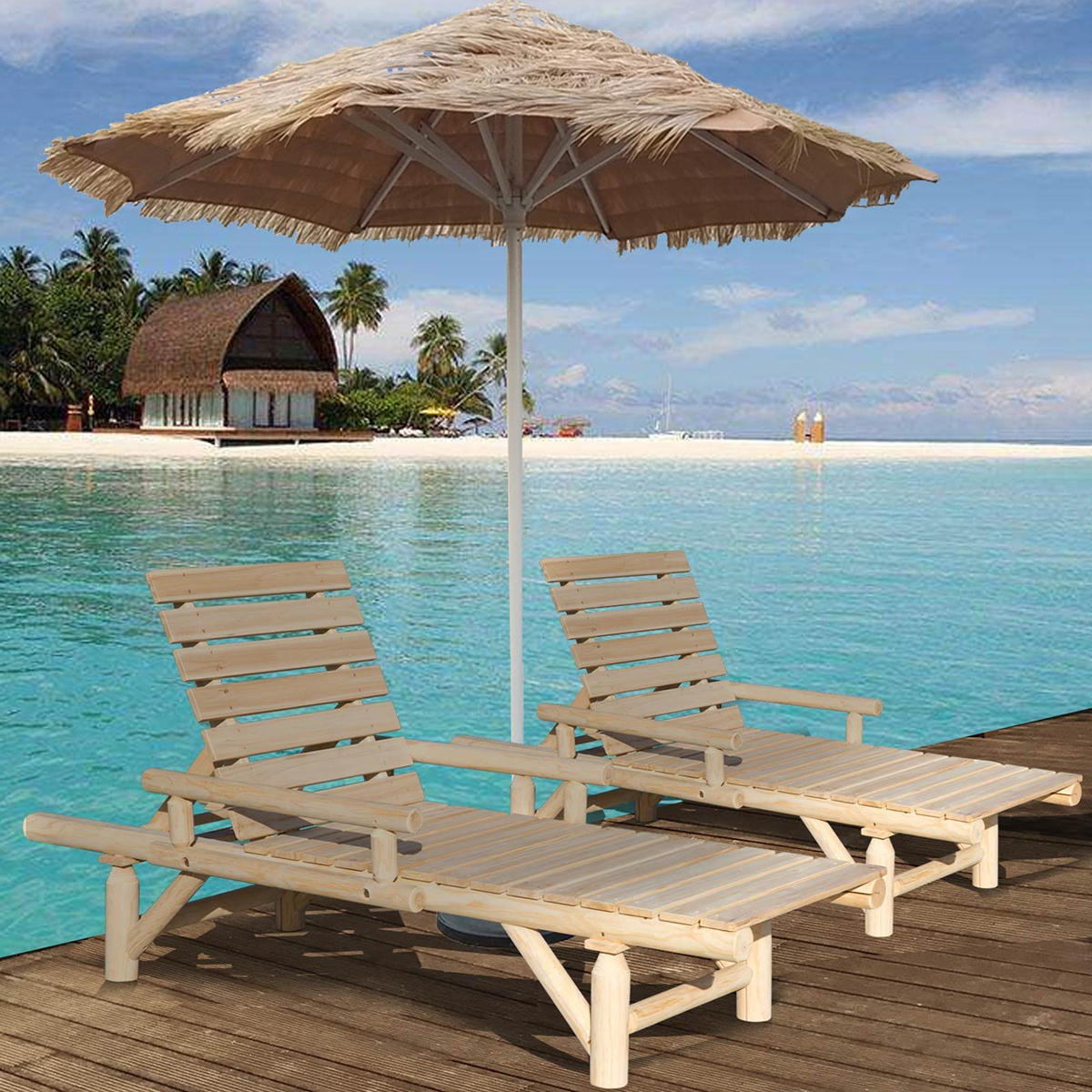 Outdoor Adjustable Wood Chaise Lounges Intended For Well Known New Hammock Chair Outdoor Adjustable Chaise Lounge Chair (View 19 of 25)