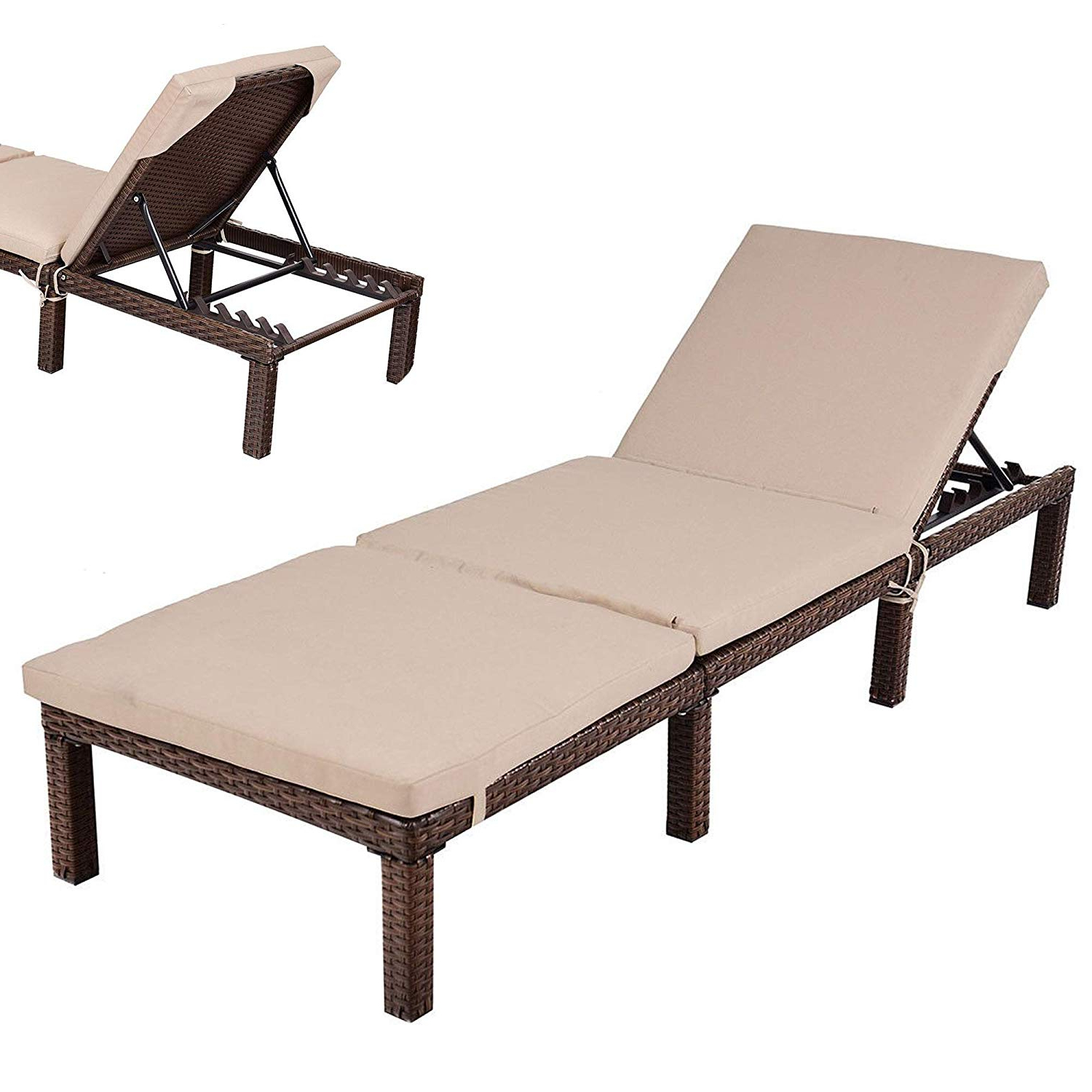 Outdoor Cushion Best Target Chaise Dimensions Pool Stunning Throughout Recent Standard Size Chaise Lounge Chairs (View 12 of 25)