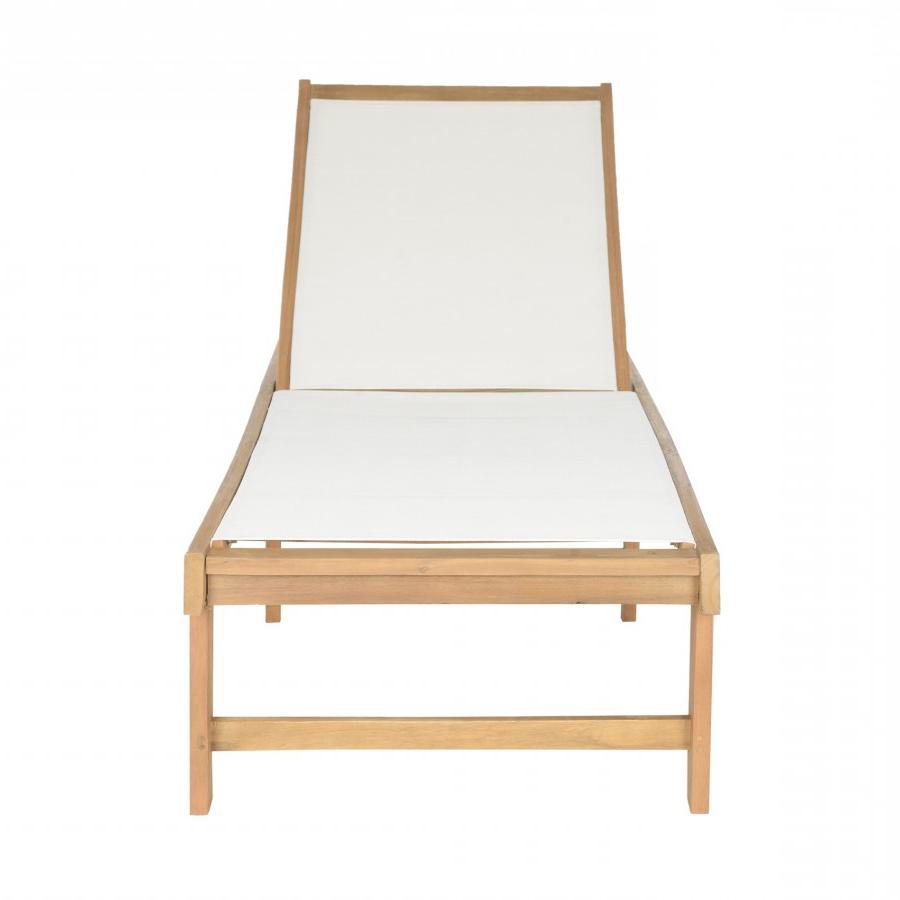 Outdoor Living Manteca Ash Grey Acacia Wood Lounge Chairs Regarding Popular Safavieh Manteca Lounge Chair – Teak Brown (View 22 of 25)