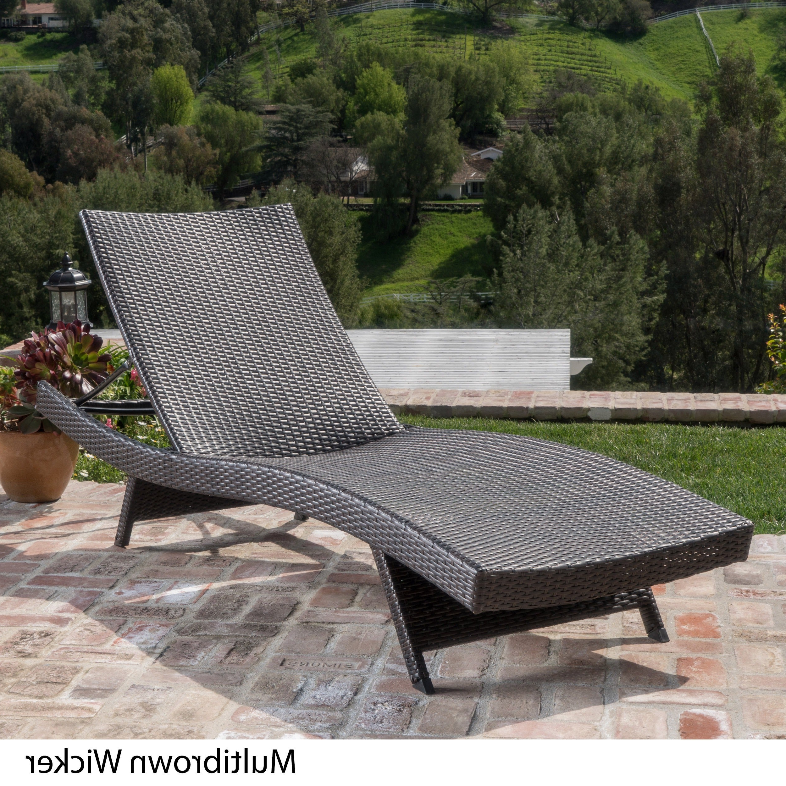 Outdoor Living Manteca Dark Slate Lounge Chairs Regarding Well Known Havenside Home Vilano Outdoor Lounge Chair (View 18 of 25)
