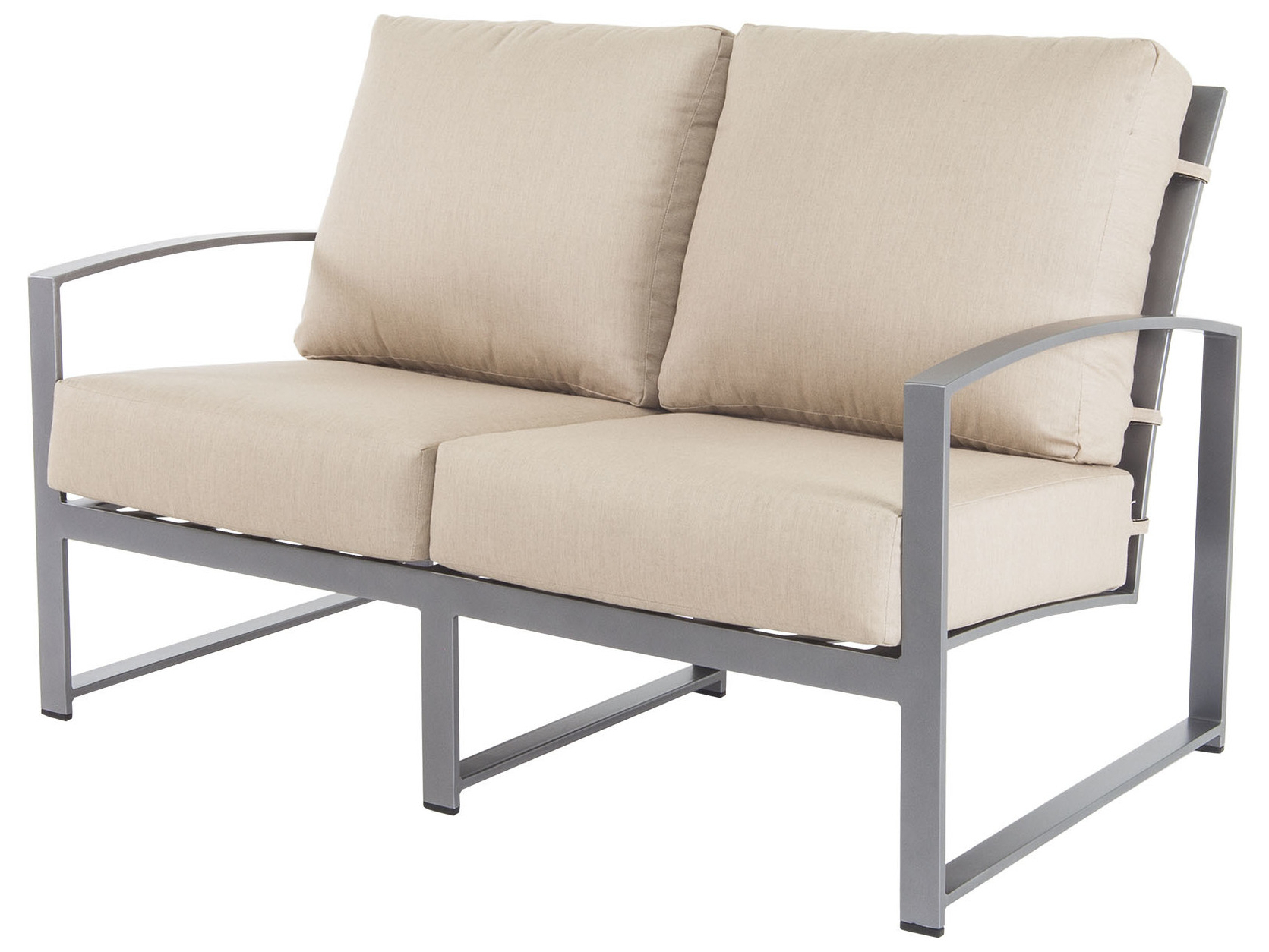 Outdoor Living Pacifica Piece Lounge Sets Throughout 2020 Ow Lee Pacifica Steel Loveseat Chair (View 25 of 25)