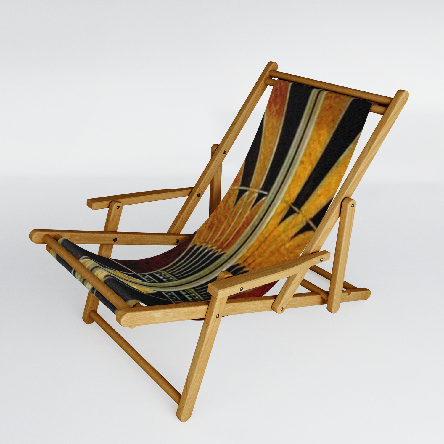 Outdoor Wood Sling Chairs With Regard To Famous Art Deco Wood Sling Chairhealinglove (View 17 of 25)