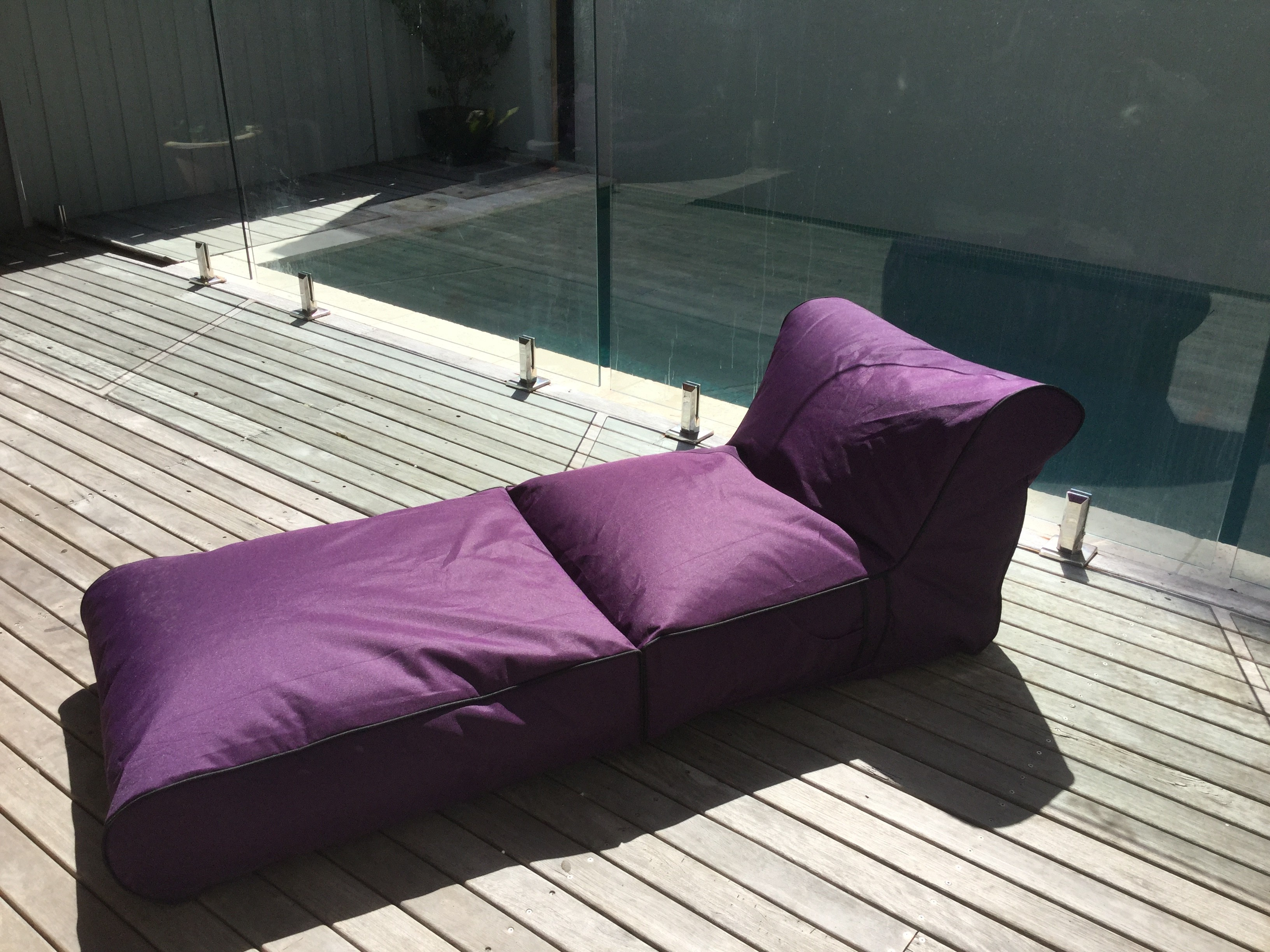Patio Bean Bag Chaise Lounges With Current Relaxious Bean Bag – Indoor Outdoor Water Resistant Large (View 12 of 25)